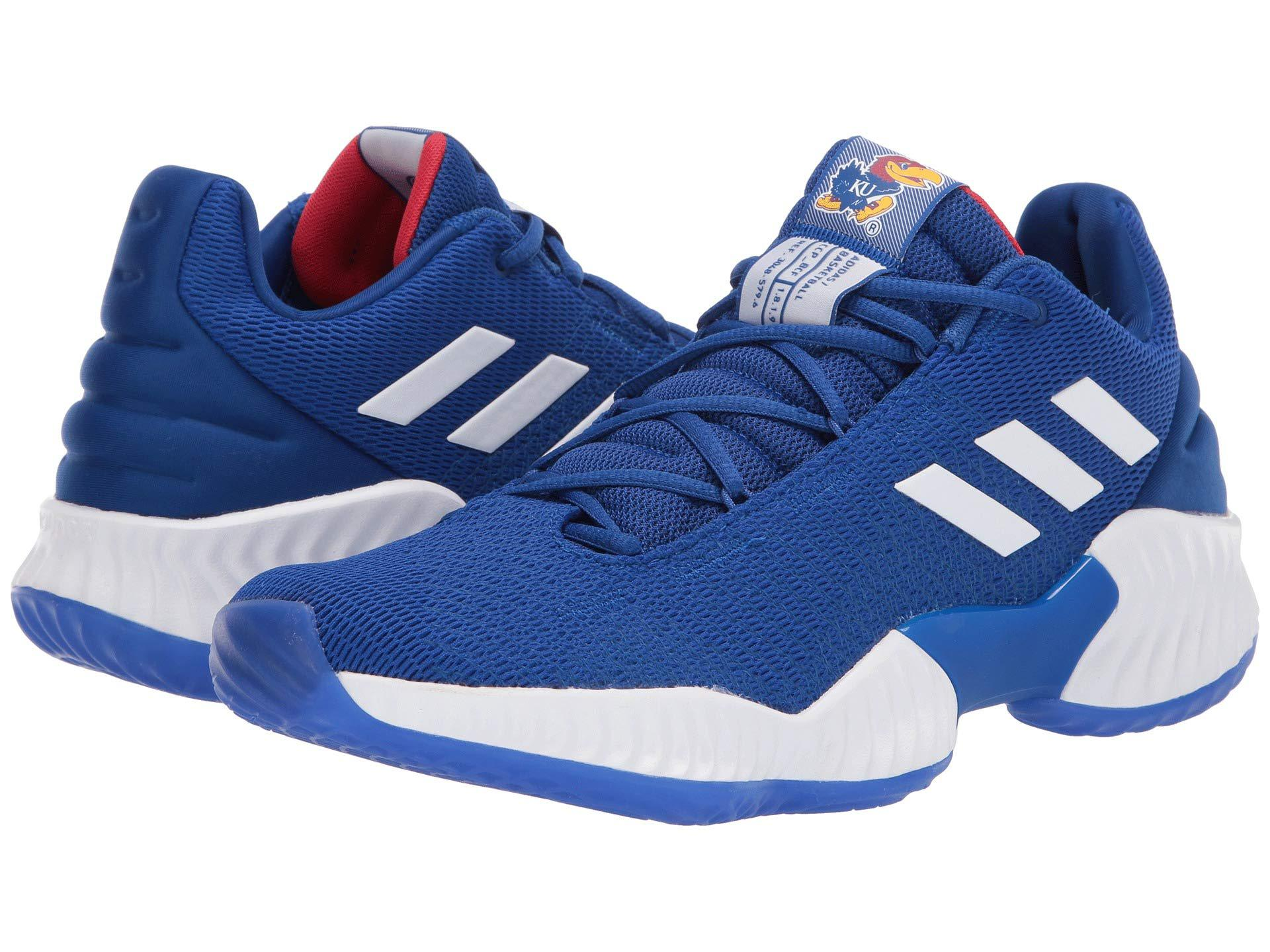 e79d6ff749ad5 Adidas - Blue Pro Bounce Low for Men - Lyst. View fullscreen