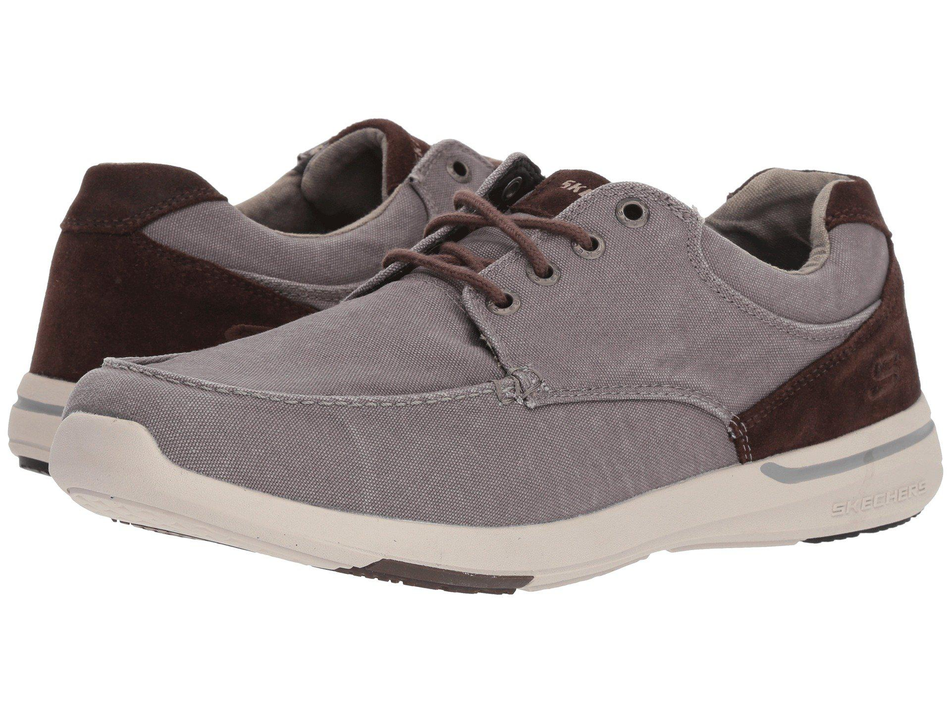 c25a5d0d91c6 Lyst - Skechers Relaxed Fit®  Elent - Arven in Gray for Men