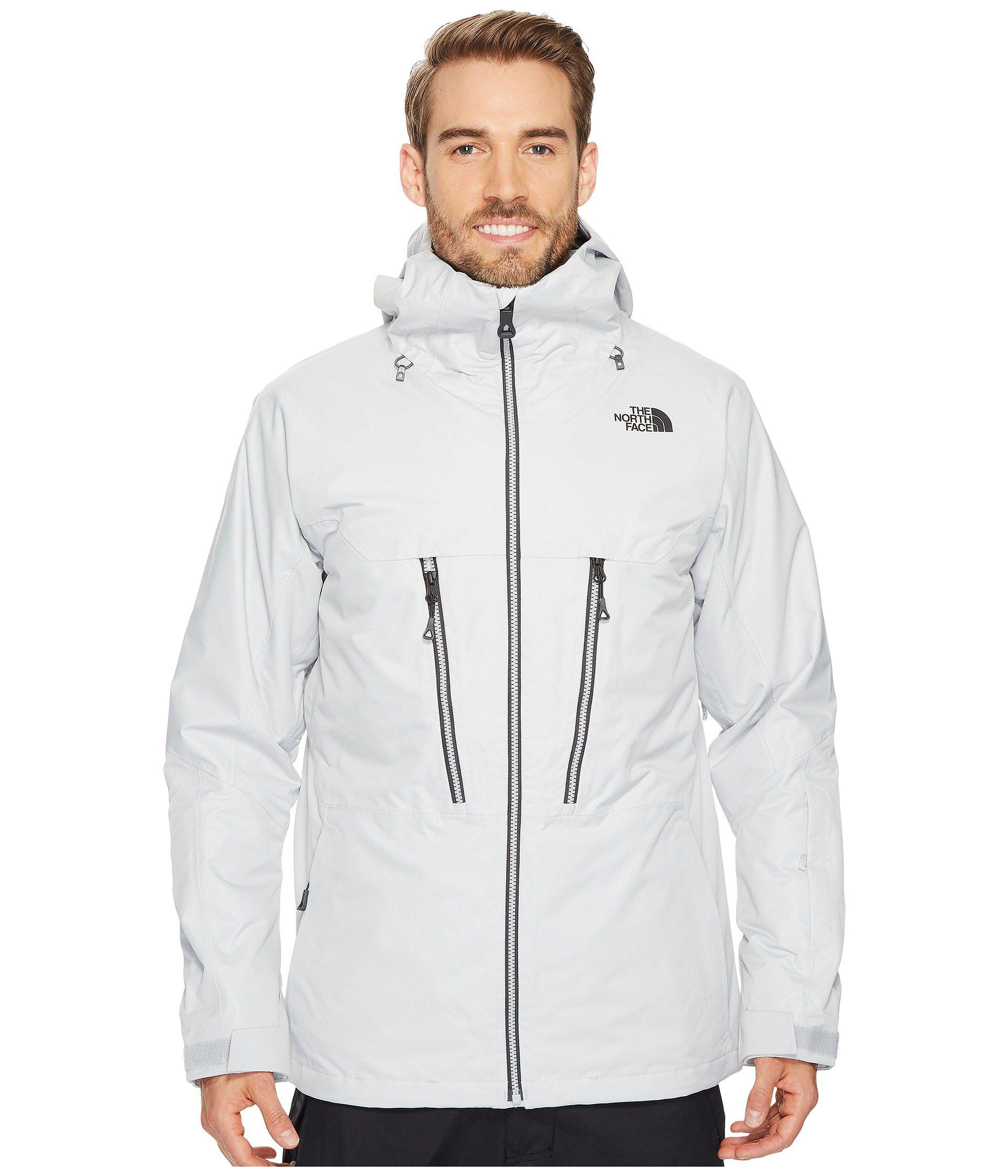 602e48385782 ... wholesale lyst the north face thermoball snow triclimate jacket in gray  for b23a9 e0d49