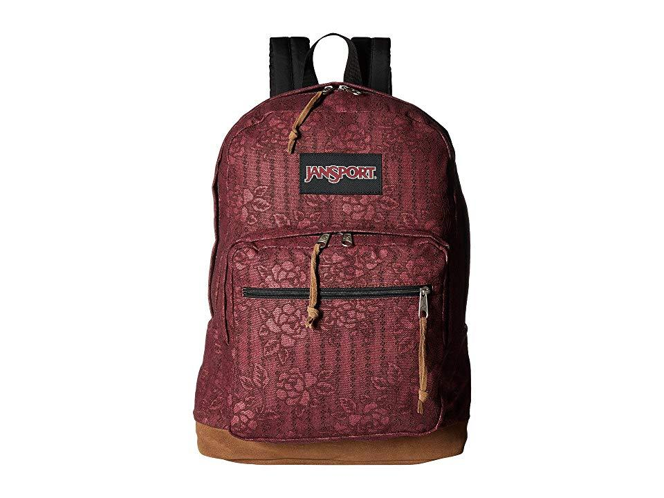 d8fe93158 Jansport Right Pack Expressions (debossed Floral) Backpack Bags in ...