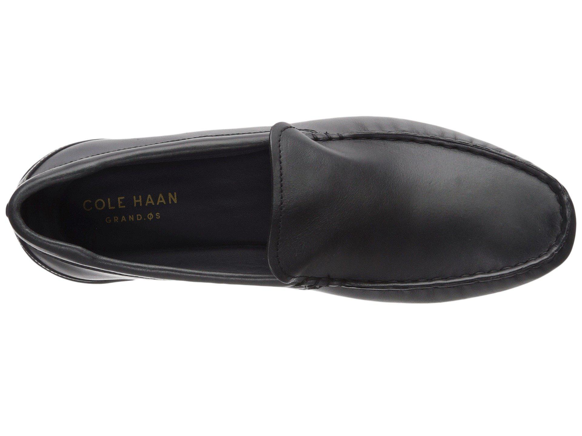 0f54fb21d52 Cole Haan - Black Branson Venetian Driver Driving Style Loafer for Men -  Lyst. View fullscreen