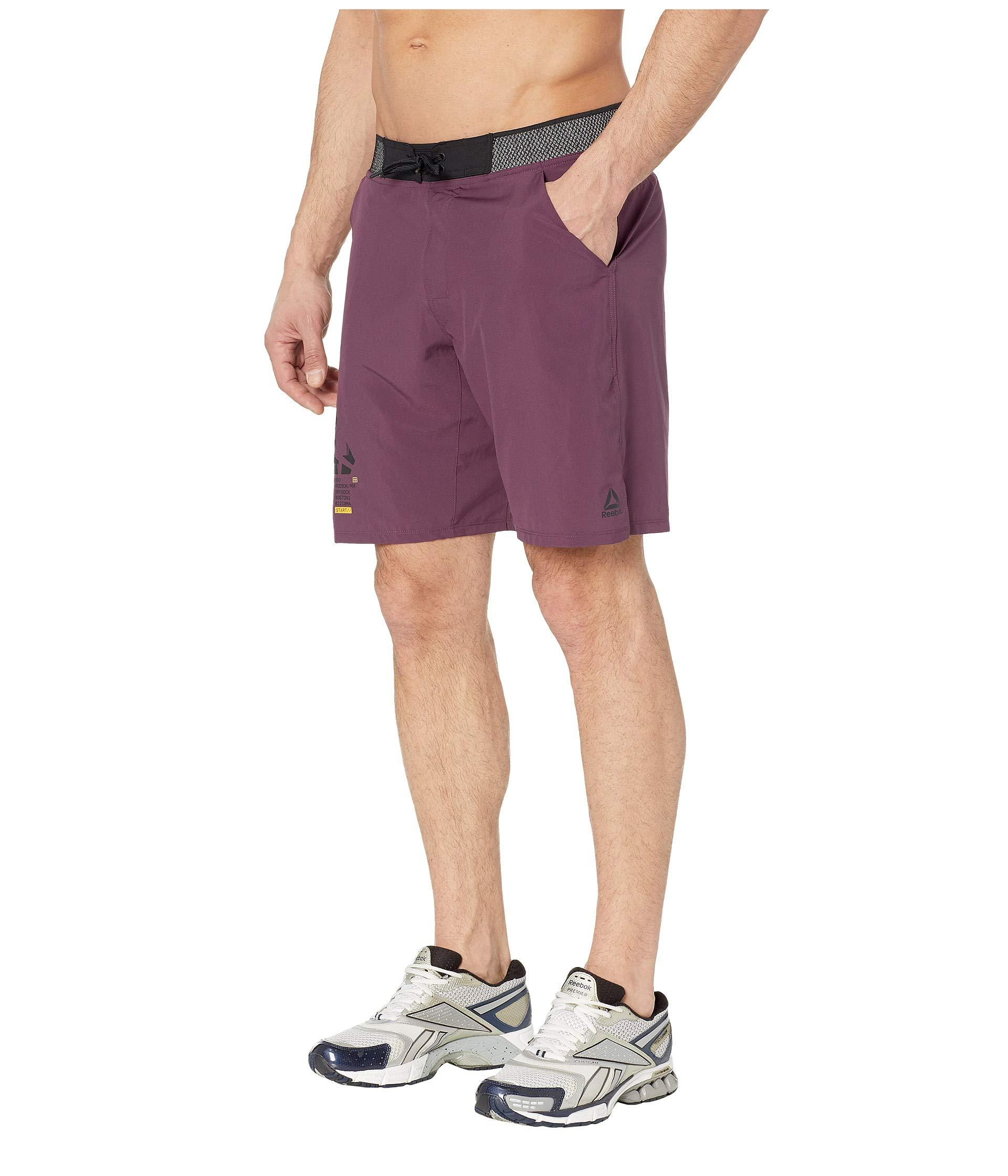 6c441395510a Lyst - Reebok Epic Lightweight Shorts in Purple for Men