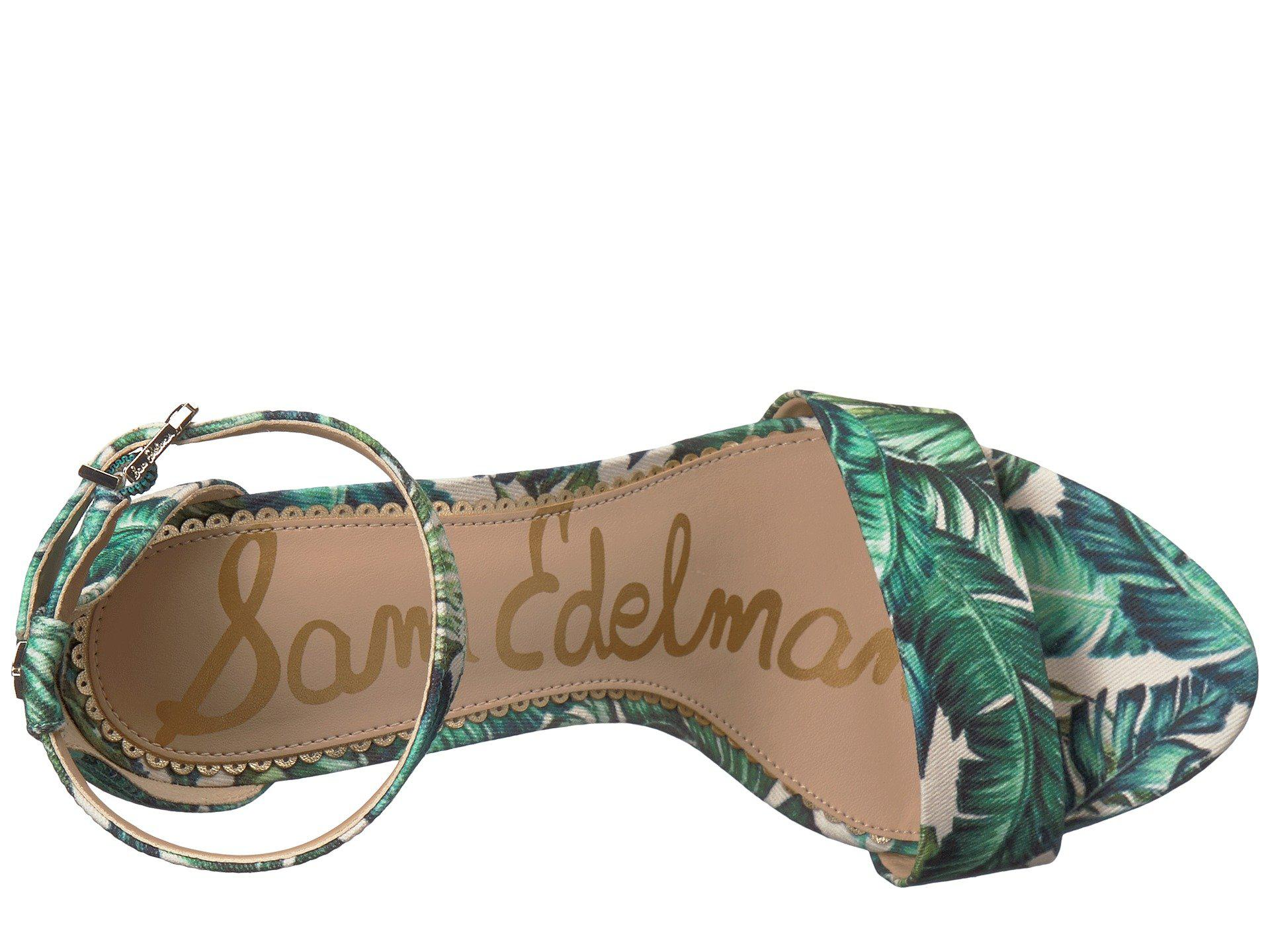 8166685881e390 Sam Edelman - Multicolor Yaro Ankle Strap Sandal Heel - Lyst. View  fullscreen