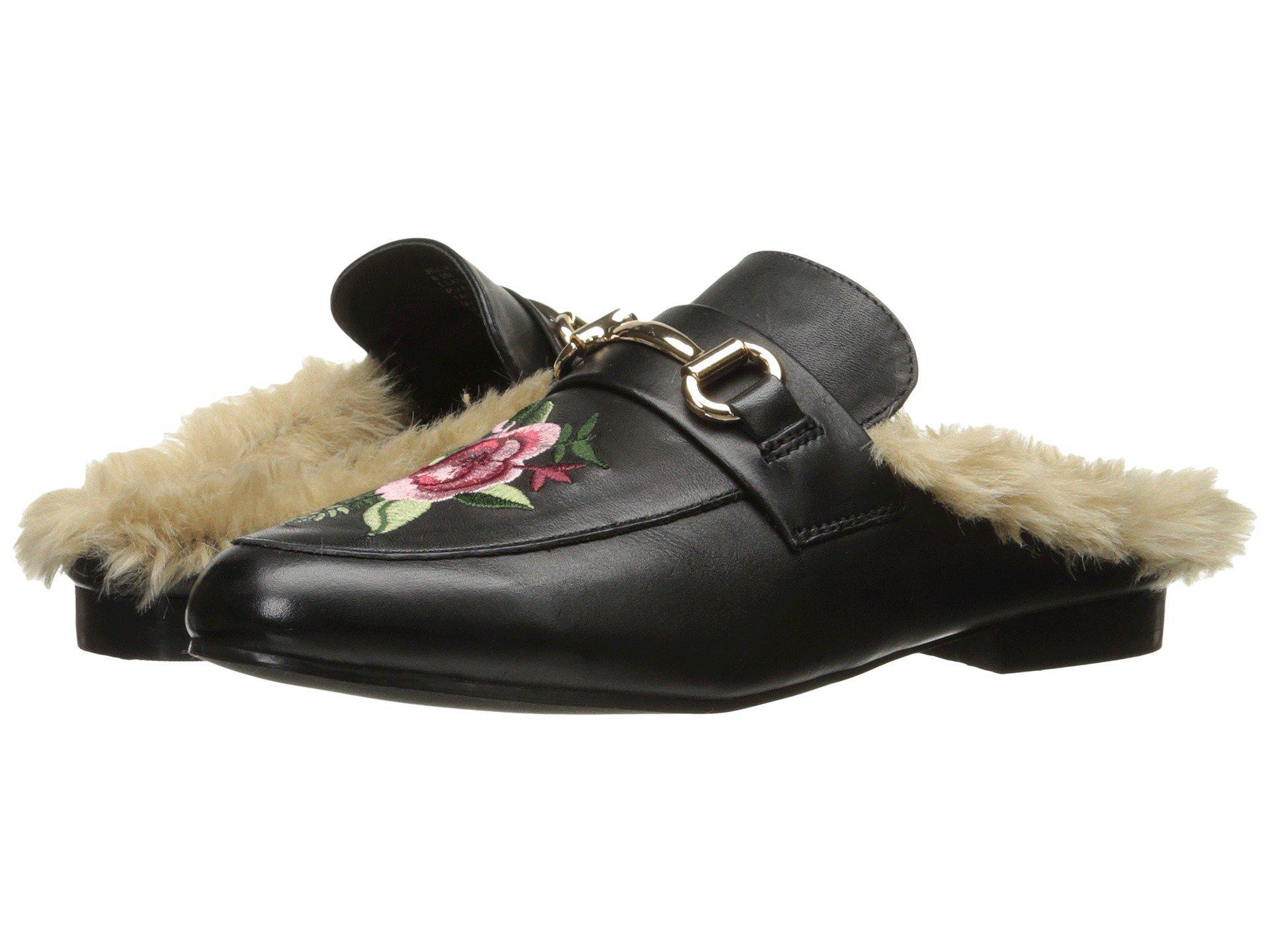 07f068a7f551 Lyst - Steve Madden Jill (black Leather) Women s Shoes in Black