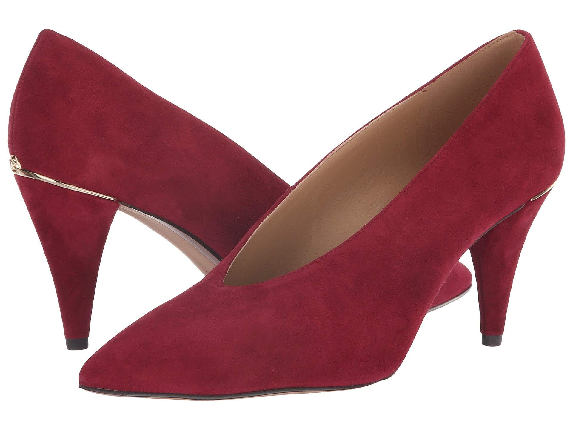 839787a5fdeb Lyst - MICHAEL Michael Kors Lizzy Mid Pump in Red