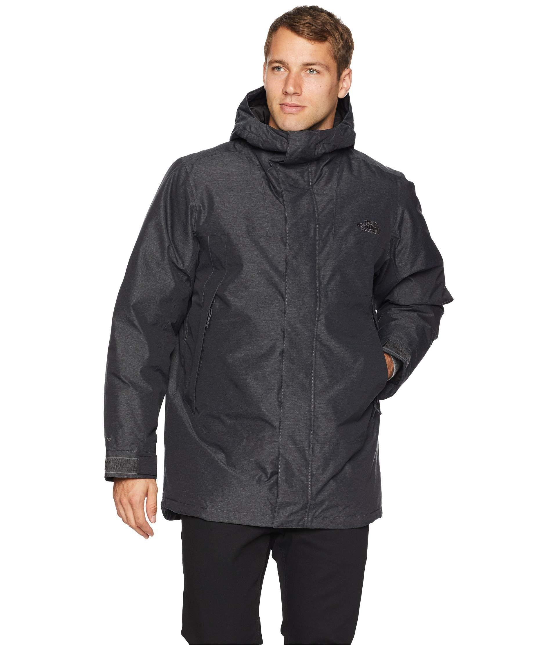 bc05c287d The North Face Shielder Parka in Gray for Men - Lyst