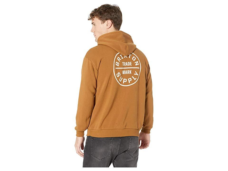 c0502031 ... Brixton - Brown Oath Ii Hoodie (washed Copper) Sweatshirt for Men -  Lyst · Visit 6PM. Tap to visit site