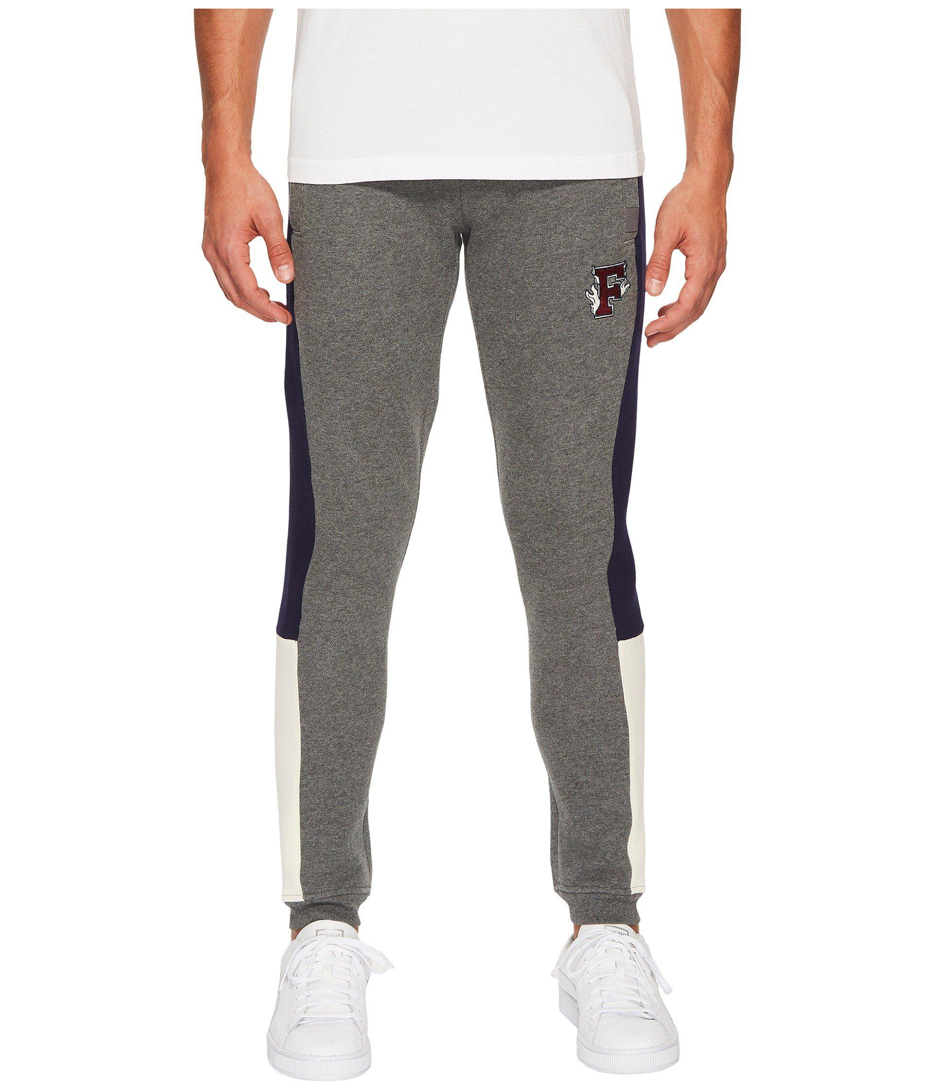 aa0c87ca45b Lyst - PUMA X Fenty By Rihanna Fitted Panel Sweatpants in Gray for Men