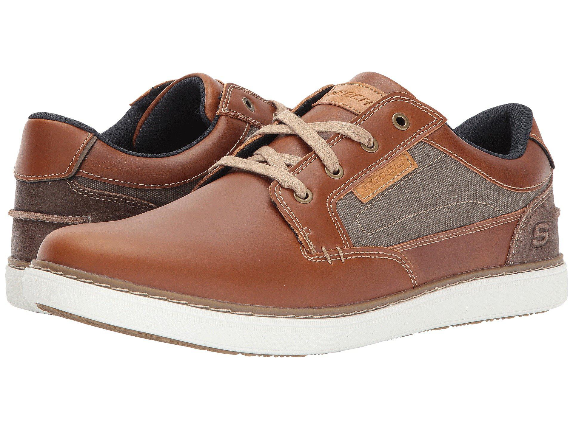 f54173d3012f Lyst - Skechers Lanson - Reldon in Brown for Men