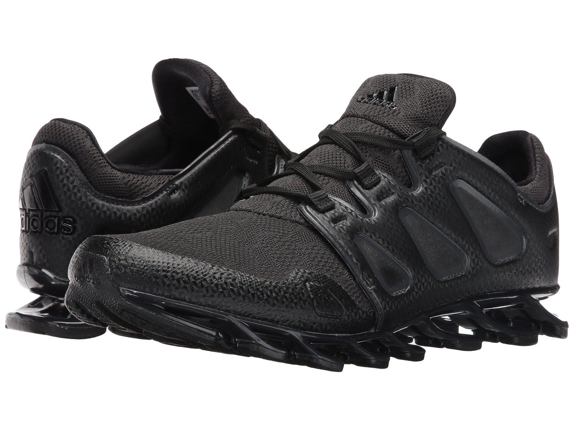 wholesale dealer 9e4a4 da9e1 ... grey silvmt and cblack running shoes 11 uk 66c3e 2e85e  get lyst adidas  springblade pro m in black for men 112e0 43fc3