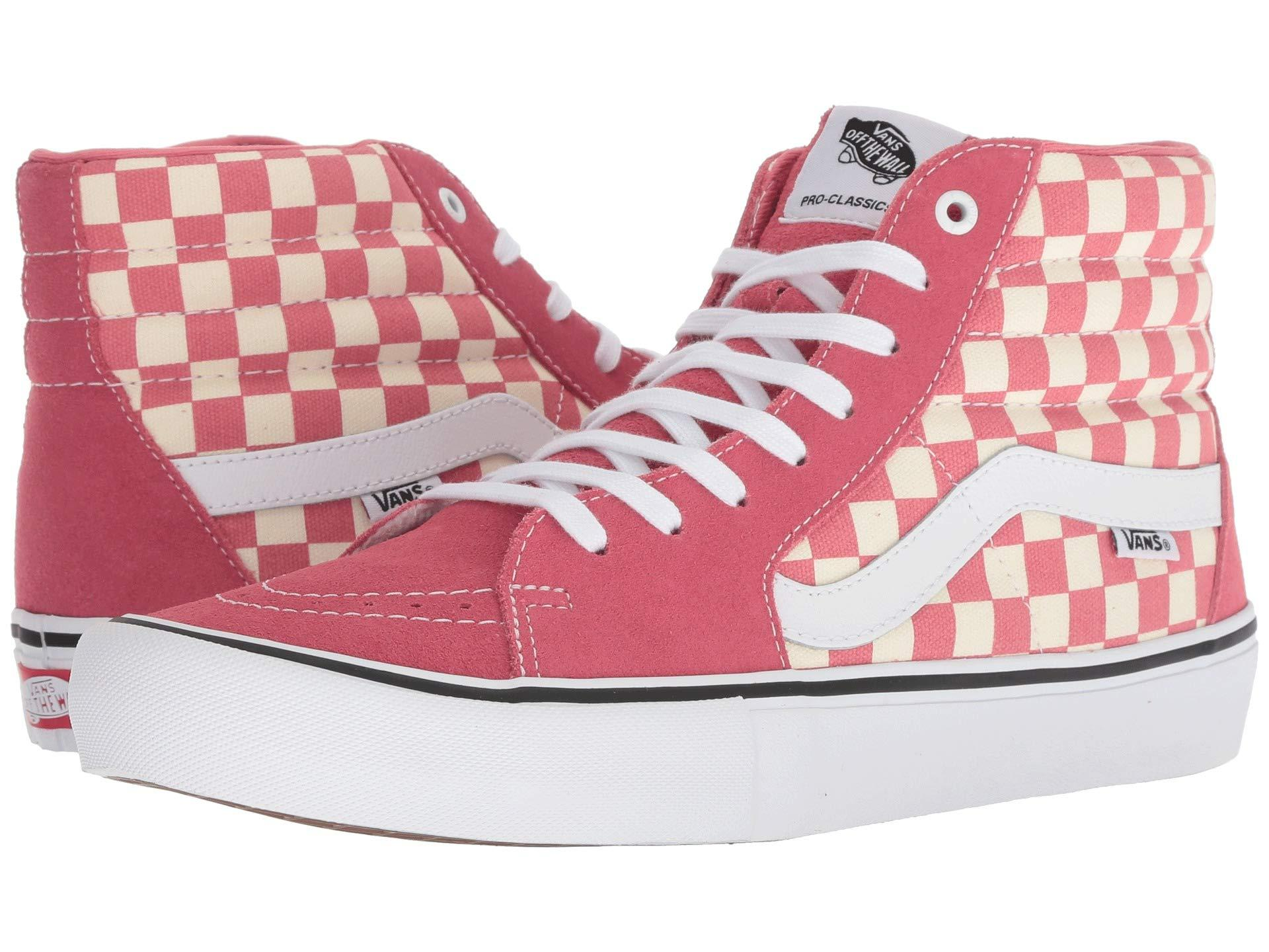 4c857ed010 Vans - Pink Sk8-hitm Pro for Men - Lyst. View fullscreen