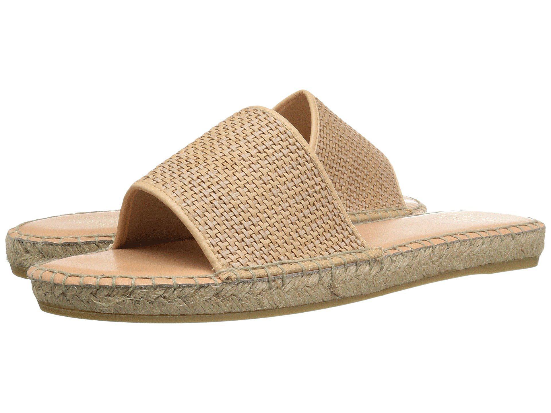 Andre Assous Nolana Slide Sandal(Women's) -Beige Woven Enjoy For Sale Cheap Looking For Visa Payment Cheap Online Sunshine bZ9g5b8dG2