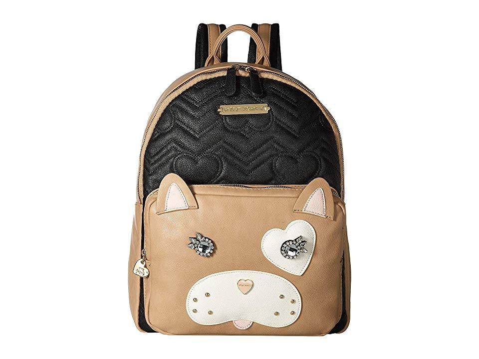8fb380a5c5 Betsey Johnson Cat Backpack (black/brown) Backpack Bags in Black - Lyst