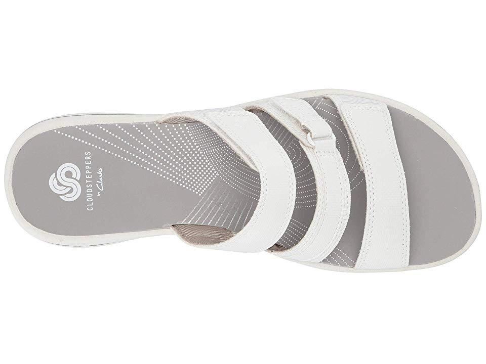 54a57d98c36a9 Clarks Brinkley Coast Boxed (white Synthetic) Sandals in White - Lyst