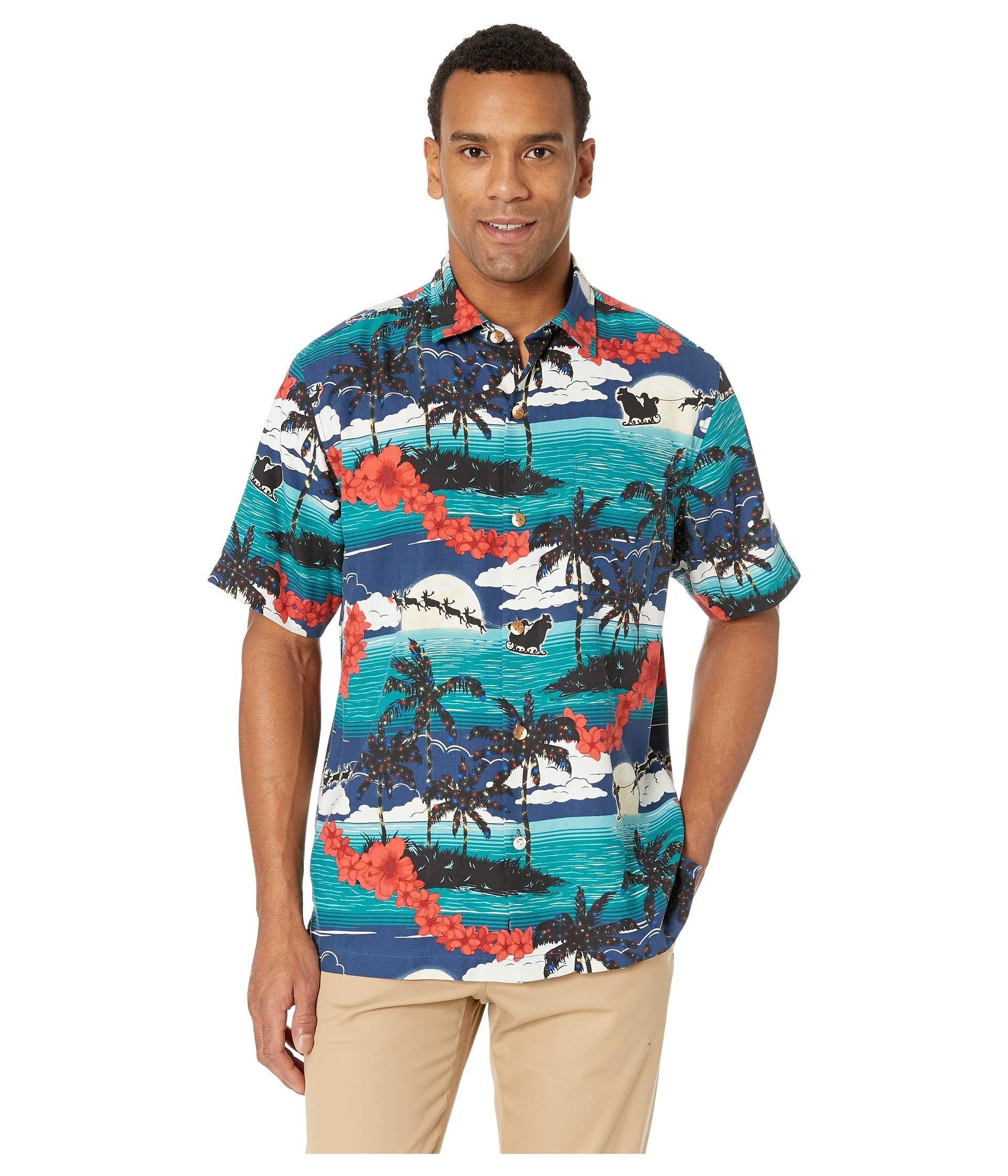829a7448 Lyst - Tommy Bahama Moonlight In Paradise Shirt in Blue for Men