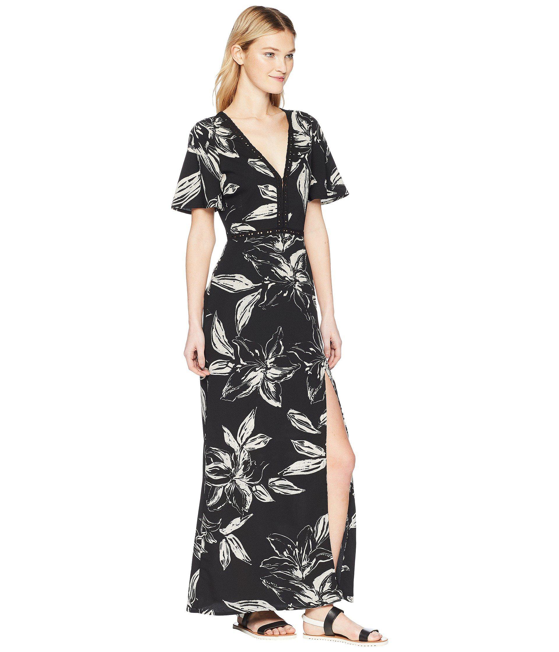 504c0500bd5787 Amuse Society - Black Seaside Dress - Lyst. View fullscreen