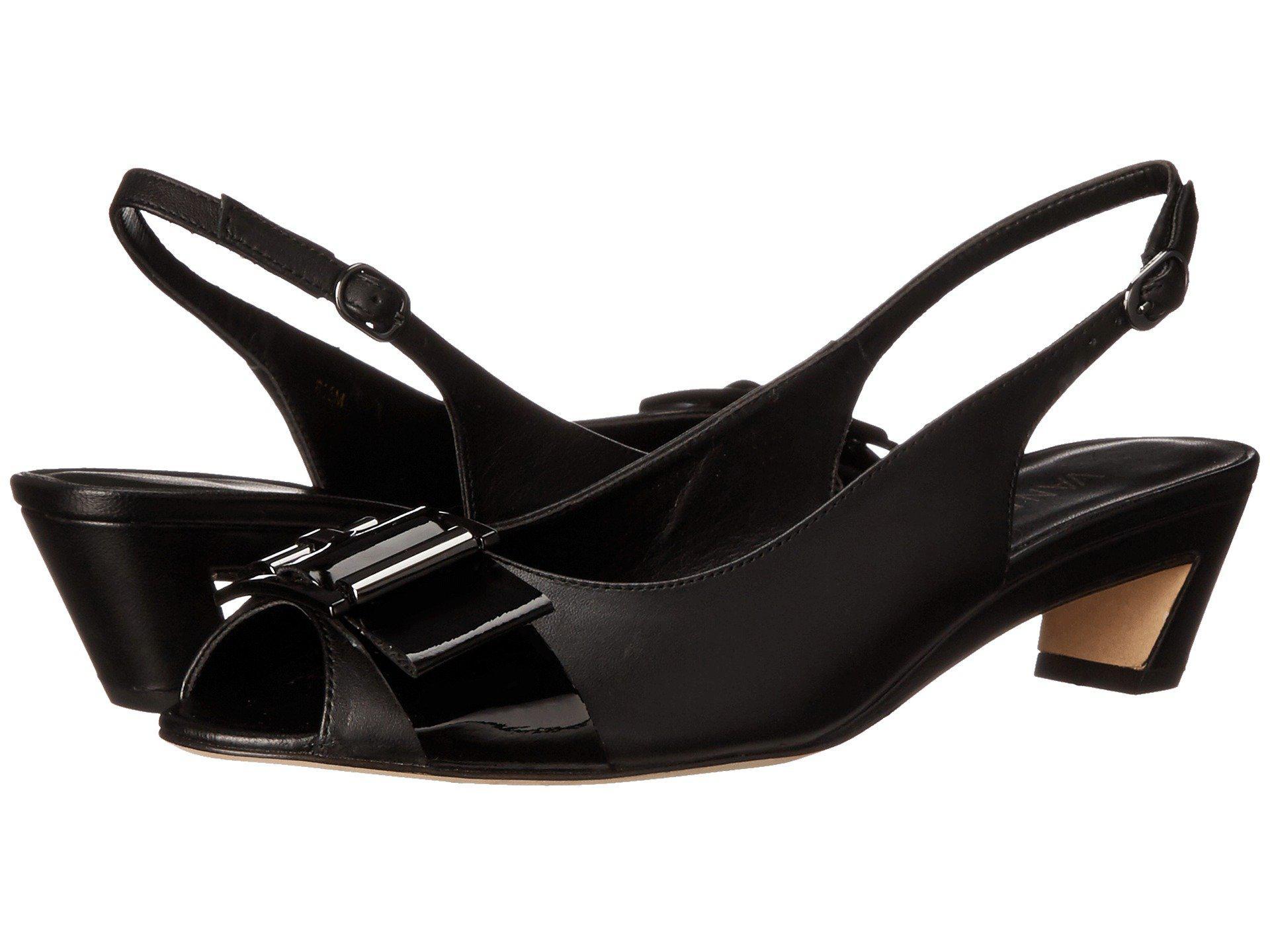 Womens Shoes Vaneli Blaize Navy Nappa