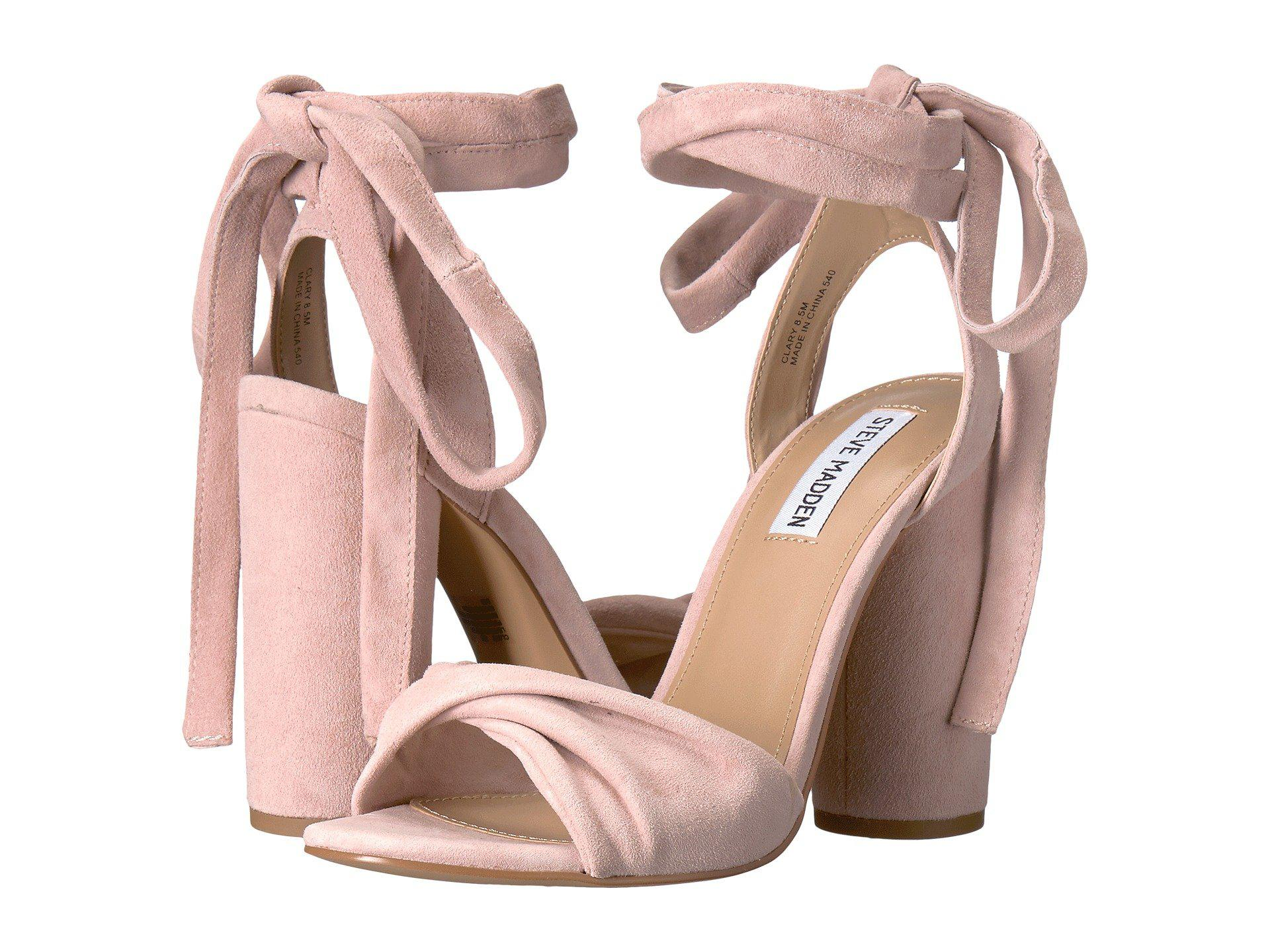 3ae3c055b8a Lyst - Steve Madden Clary in Pink
