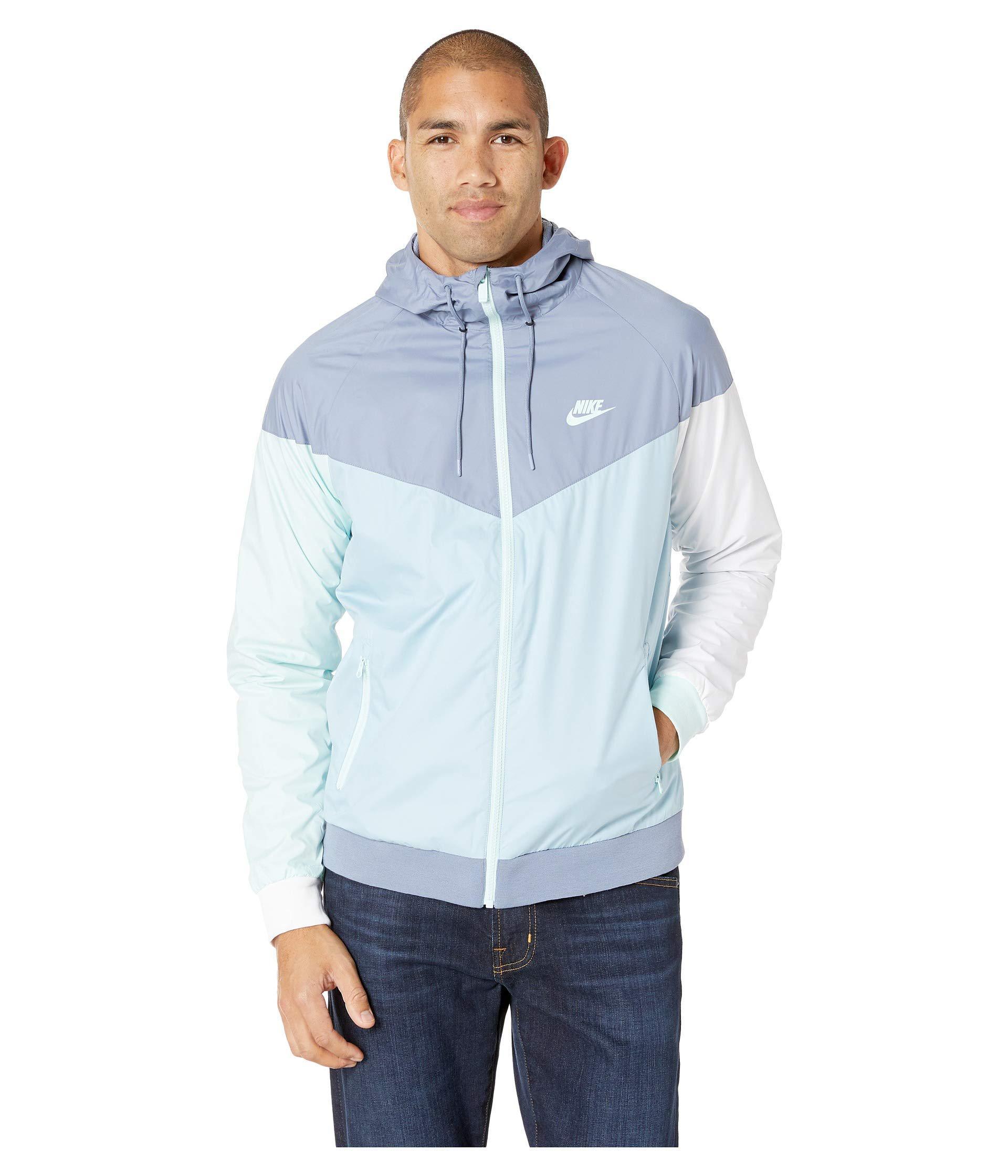 60a8958d5e Lyst - Nike Sportwear Windrunner Jacket in Blue for Men