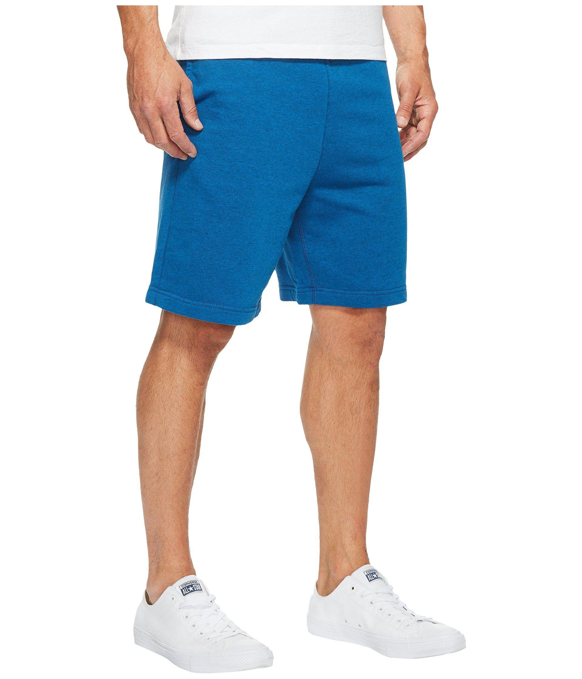 78db5febef60 Lyst - Converse Core Reflective Fleece Shorts in Blue for Men