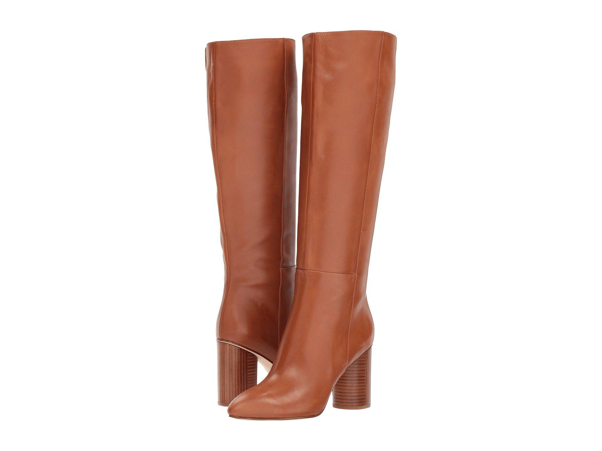 27ef59e22c34 Lyst - Nine West Christie Knee High Boot in Brown - Save 41%