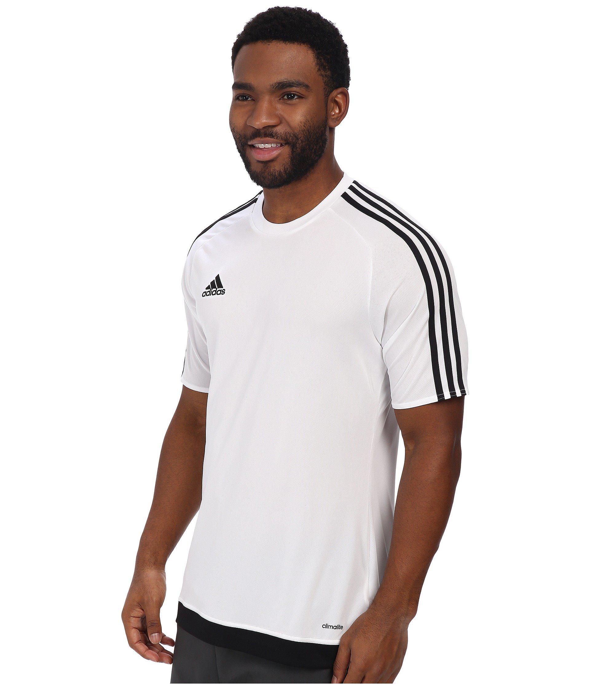 727416104186 Lyst - adidas Estro 15 Jersey in White for Men