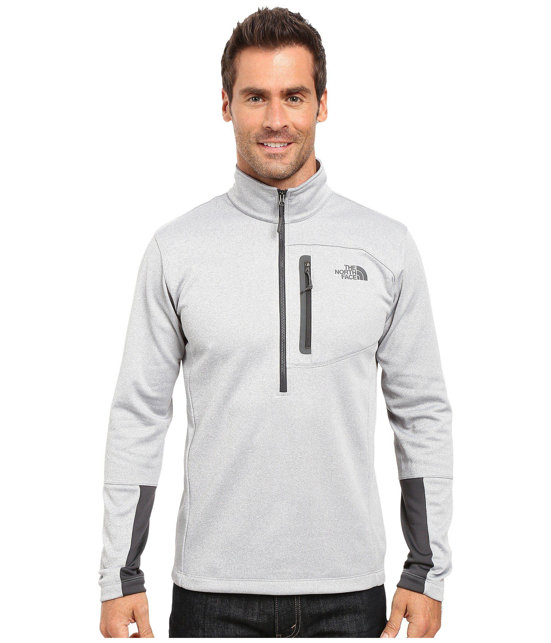 5b8f5c7a6 Lyst - The North Face Canyonlands 1/2 Zip Pullover in Gray for Men