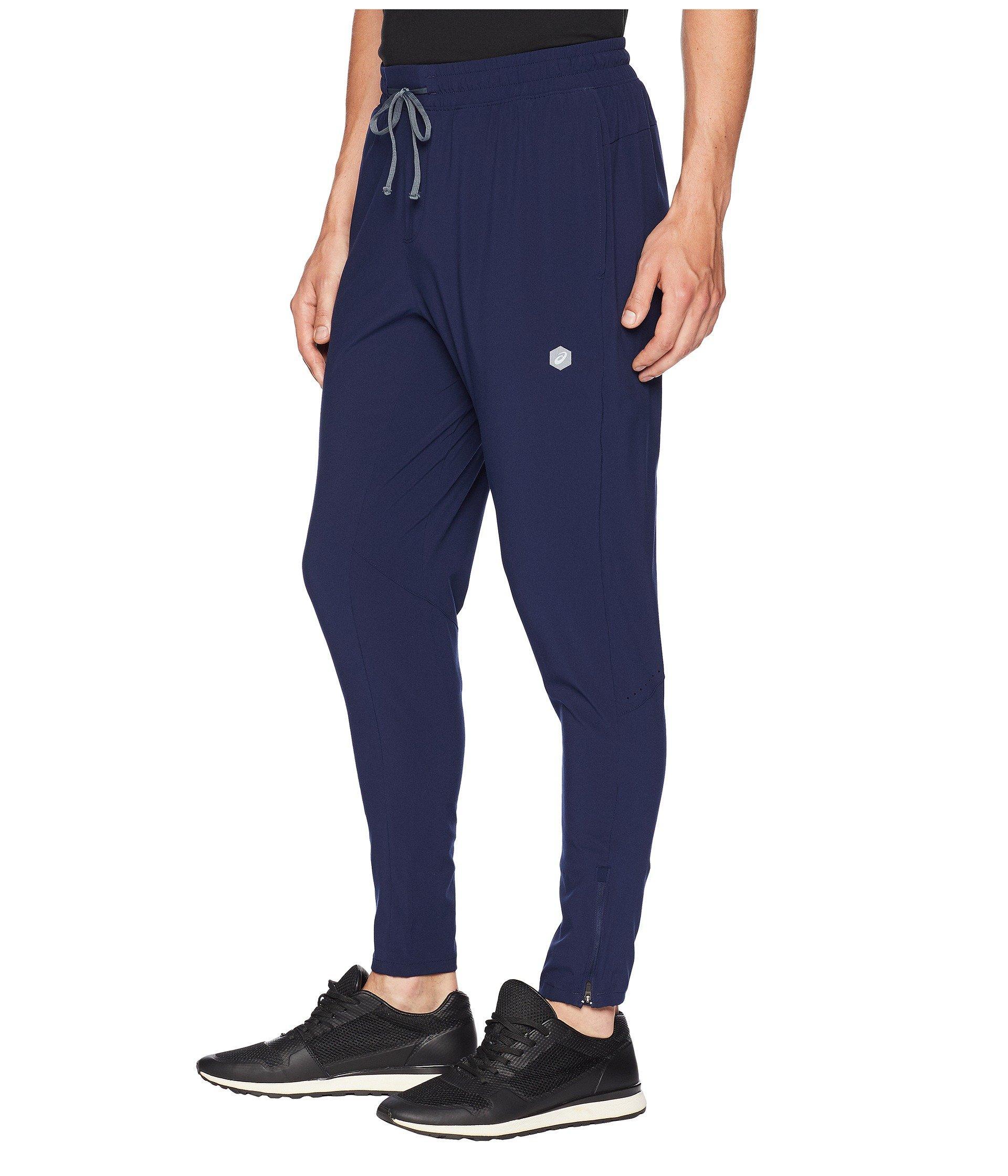 b7eacddd64fecf Lyst - Asics Run Woven Track Pants in Blue for Men