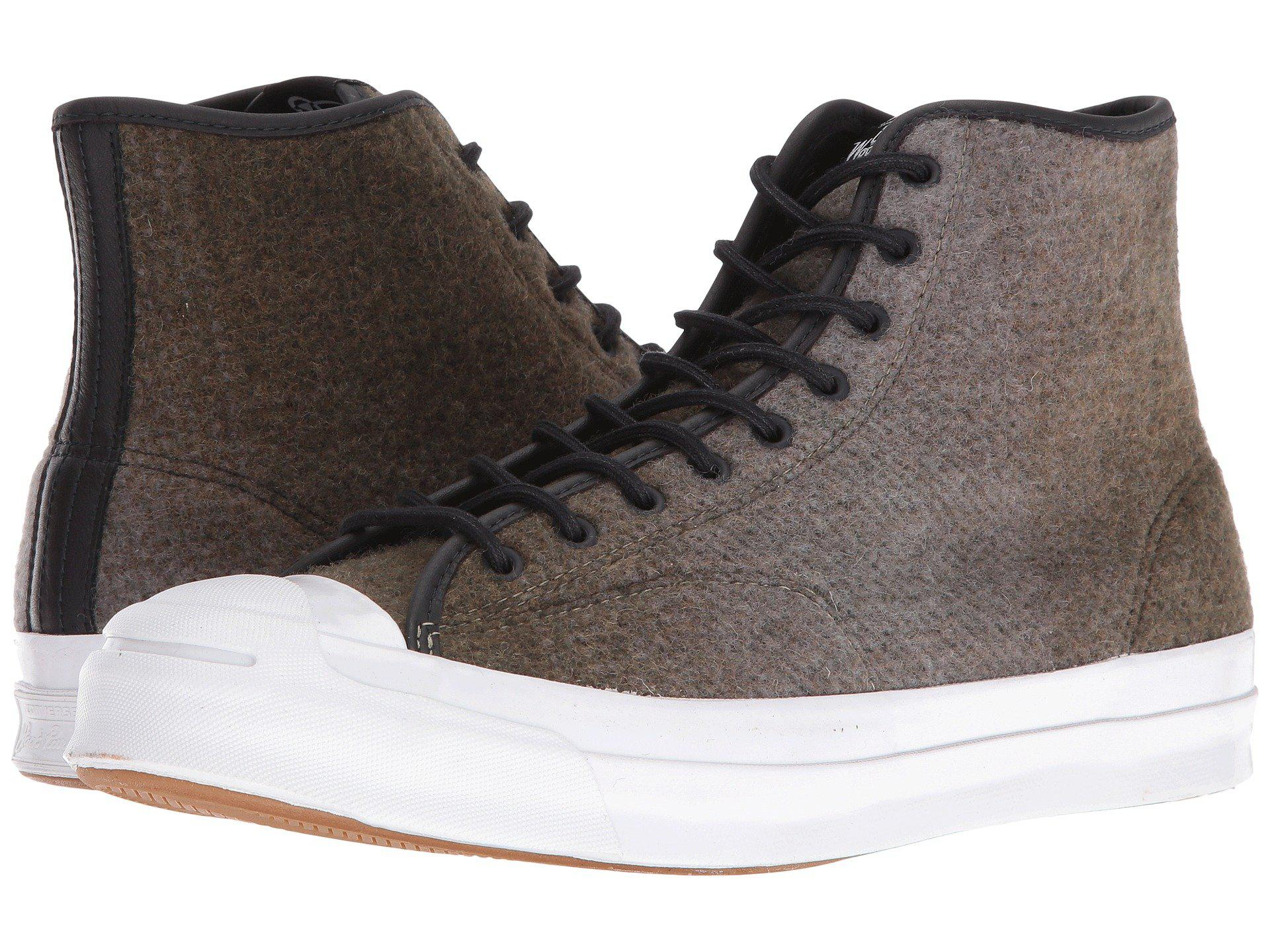 2f9b0c7c454f Lyst - Converse Jack Purcell® Signature Woolrich Hi in Black for Men