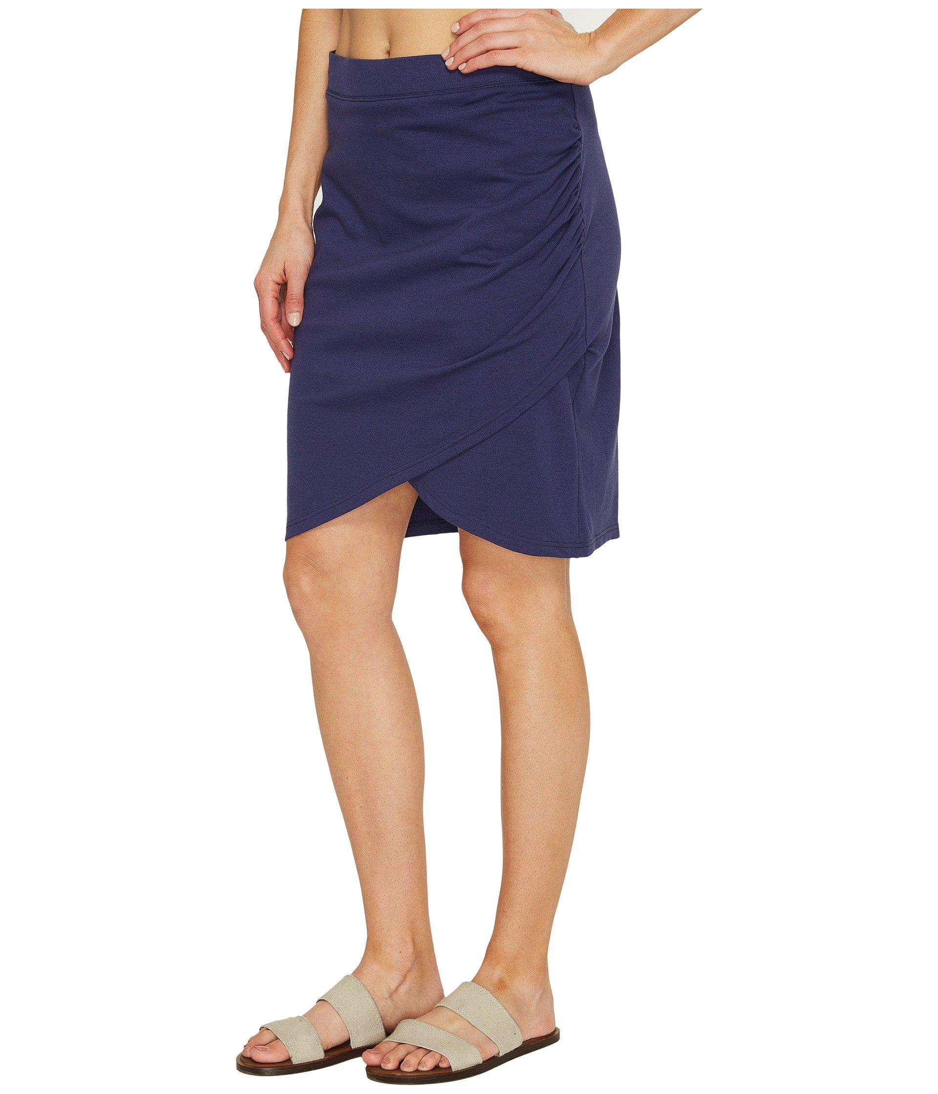 e2d8f534e9 Lyst - Fig Clothing Far Skirt in Blue - Save 44%