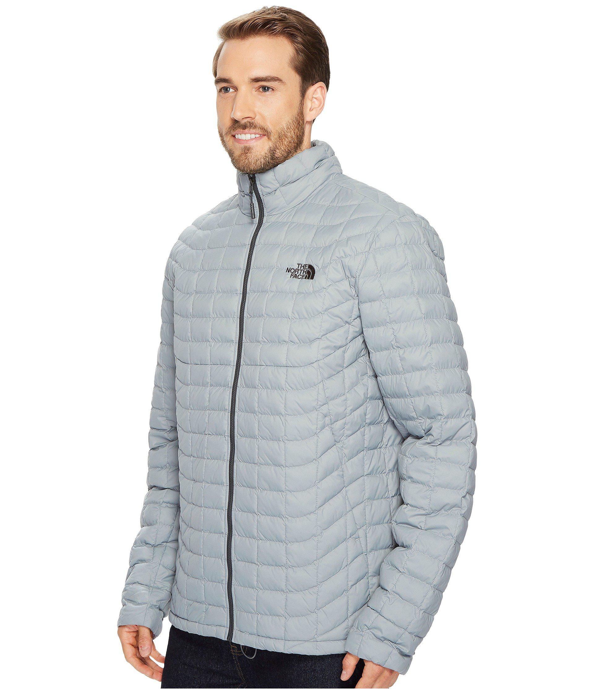 4c93181f83 Lyst - The North Face Thermoball Jacket - Tall in Gray for Men - Save 28%