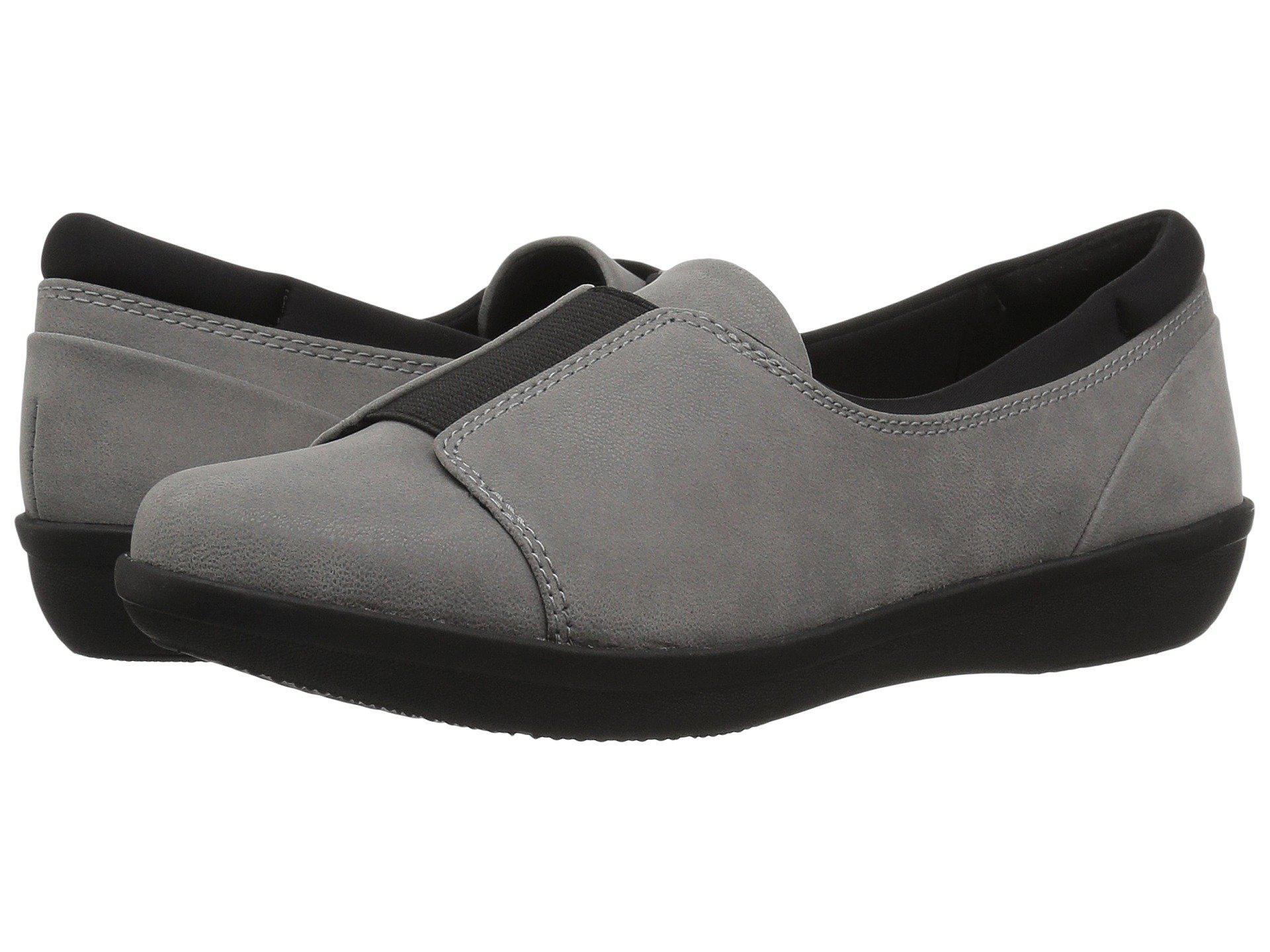 e990291e9bad Lyst clarks ayla band in gray save jpg 1920x1440 Clarks band