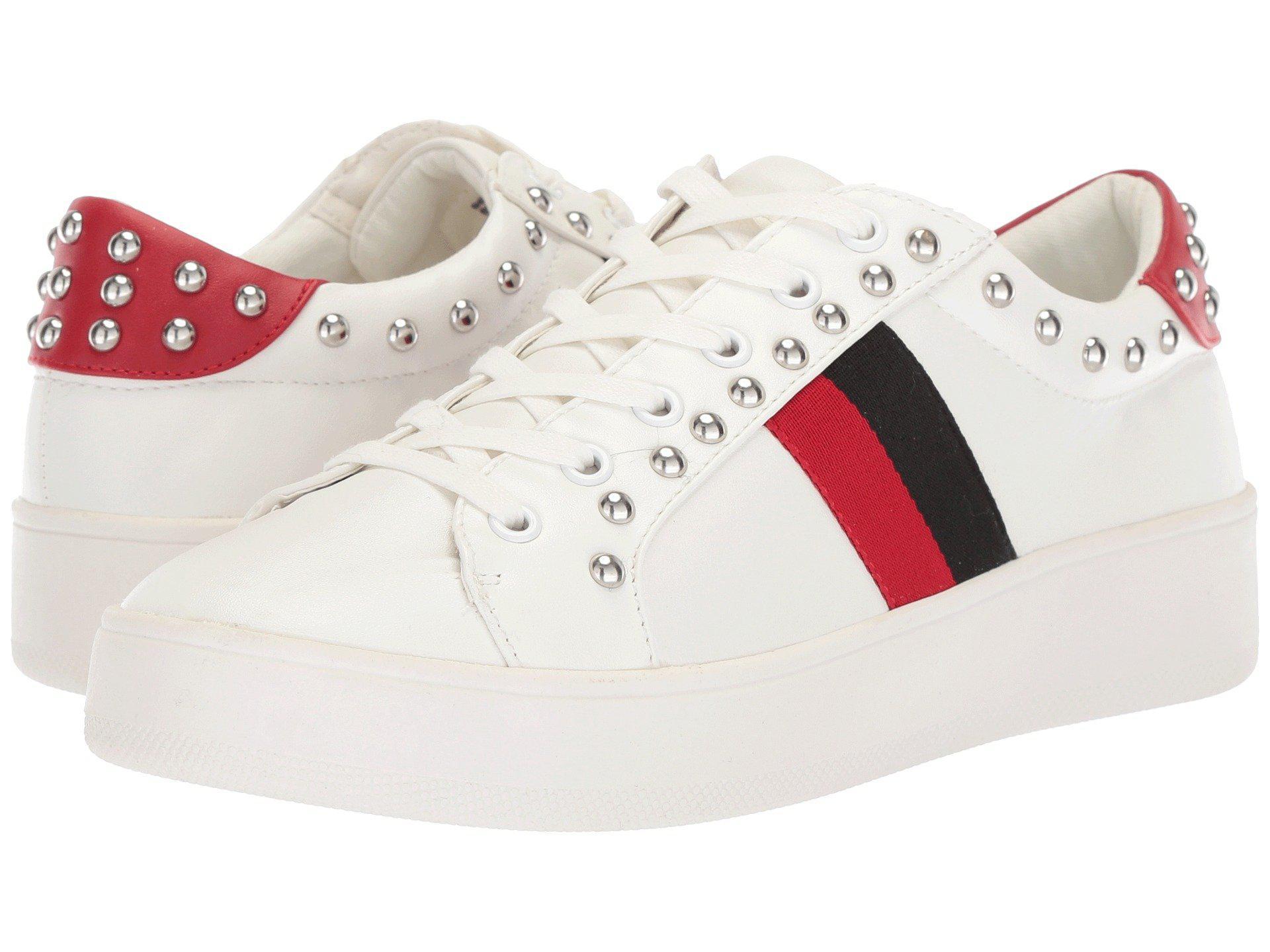 ab315bd0b2f Lyst - Steve Madden Belle Sneaker in White