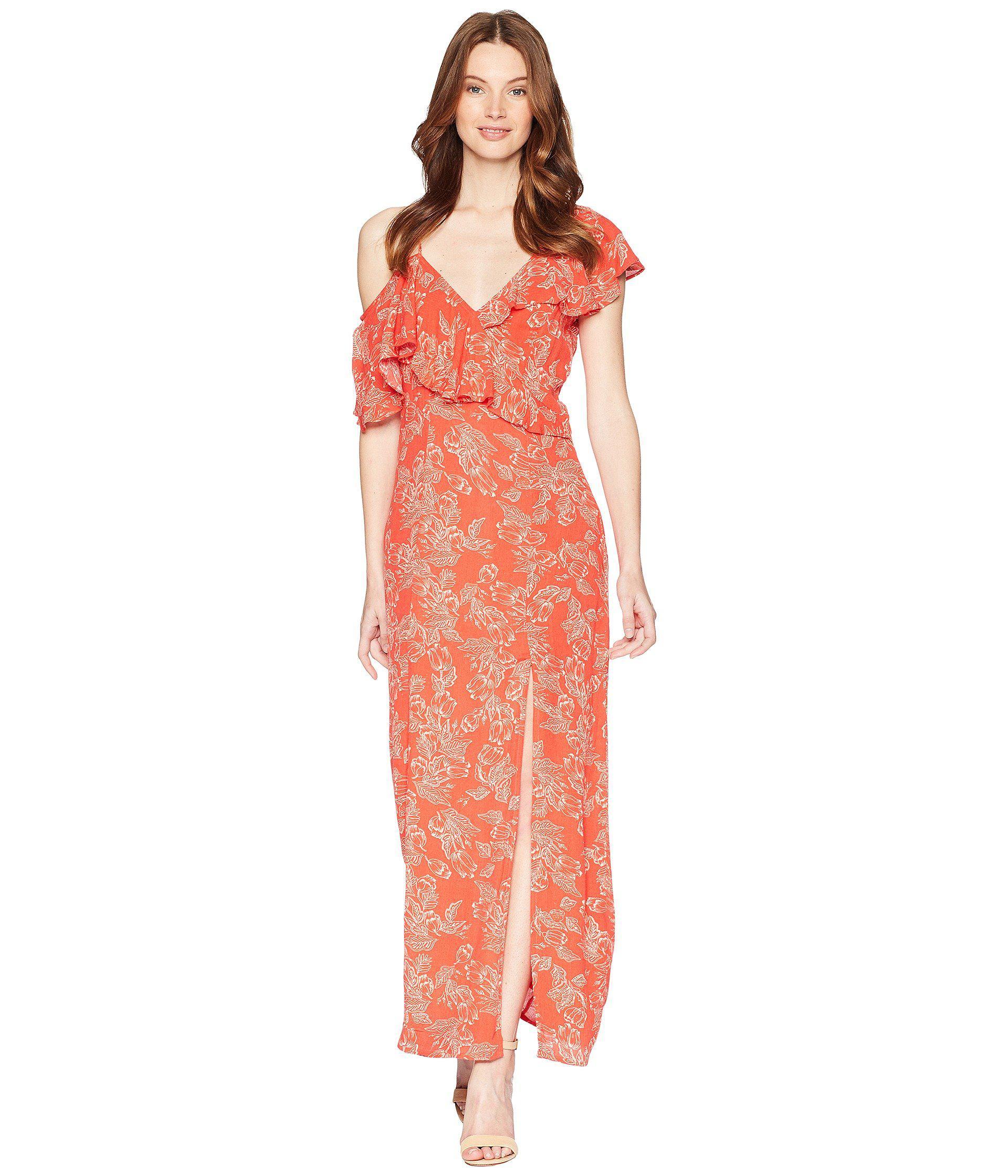 6b6f6f7549c66d Amuse Society Midnight Flower Dress in Red - Save 51% - Lyst