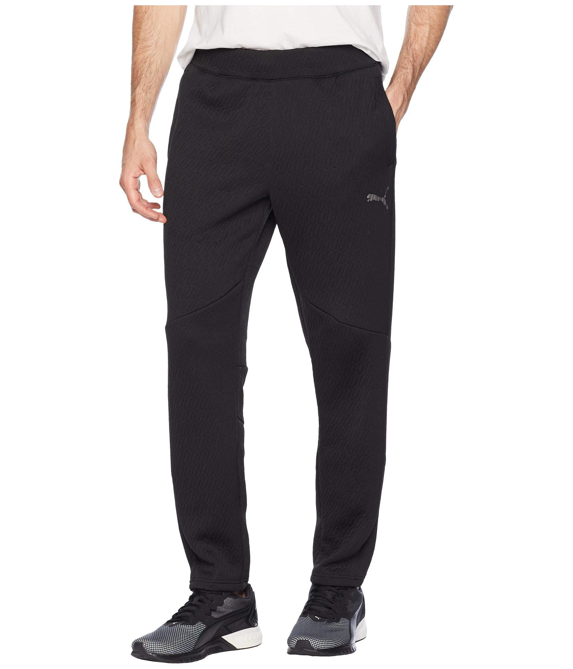 8297e921619b Lyst - PUMA Vent Knit Pants in Black for Men - Save 55%