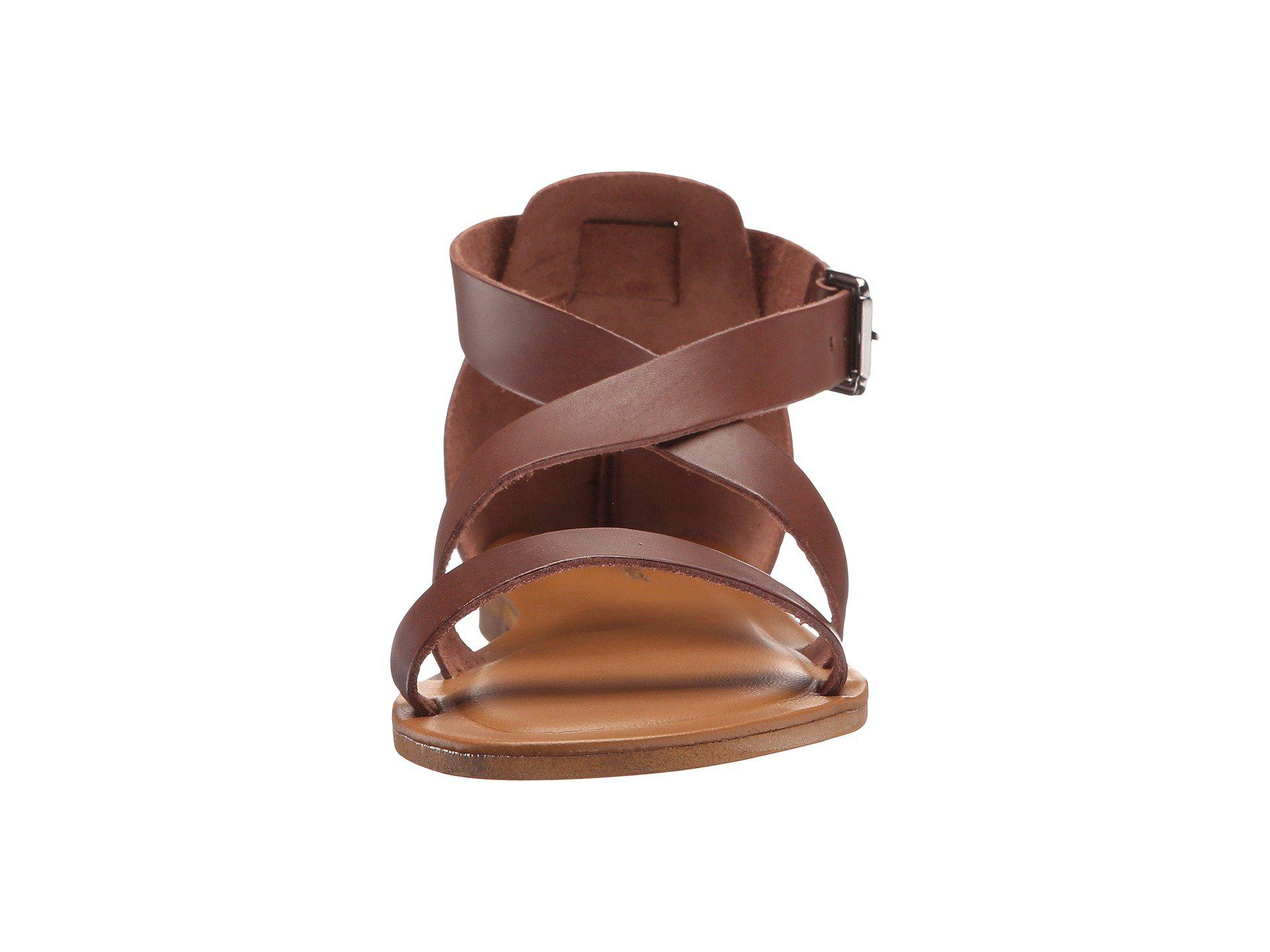 d33019f0541b Lyst - Massimo Matteo 3 Band Sandal in Brown