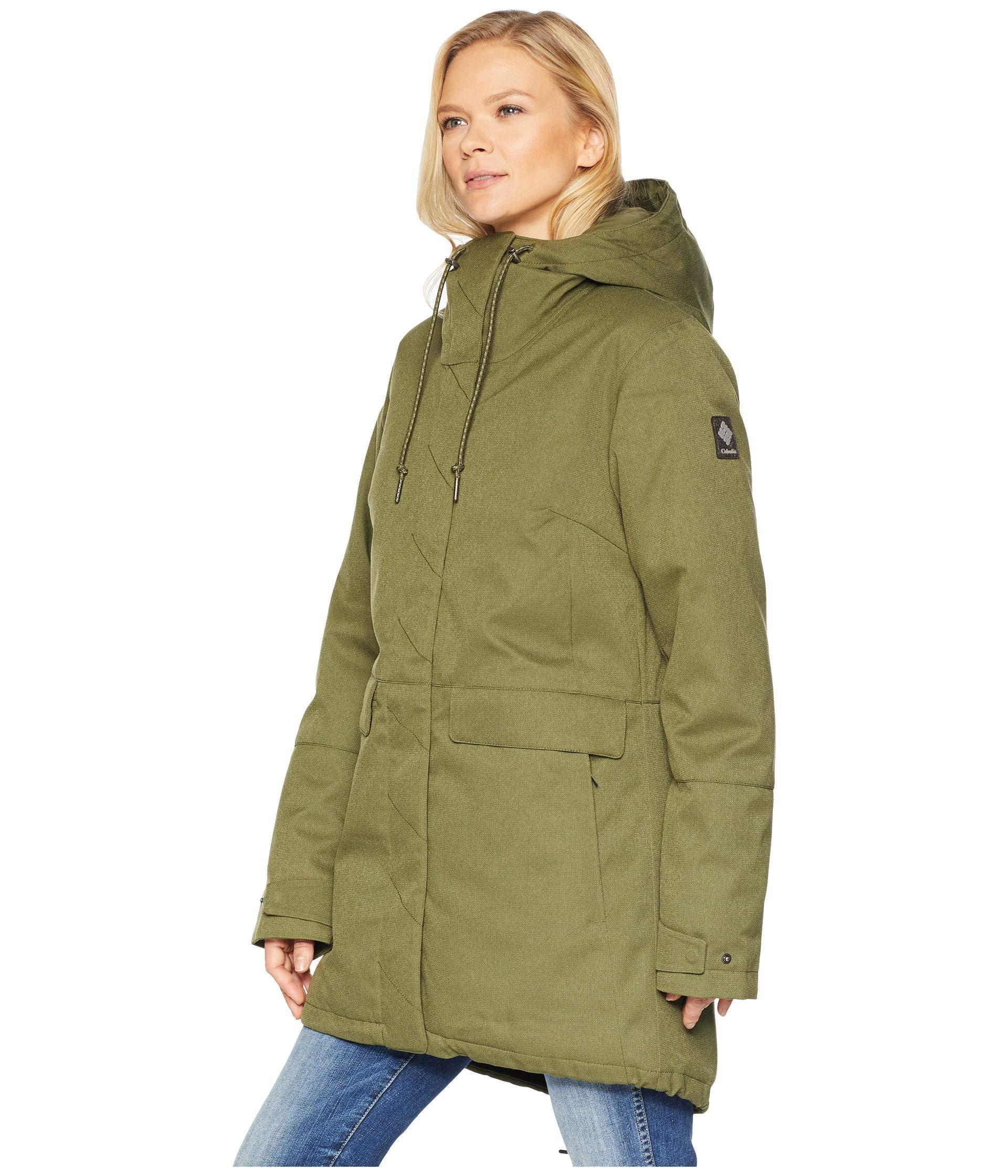 c090d1bf7d67 Lyst - Columbia Boundary Baytm Jacket in Green