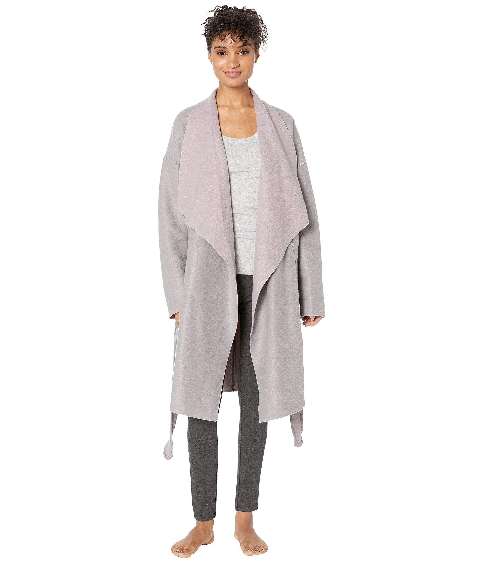 Lyst - Donna Karan Cocoon Robe in Gray - Save 25% cd42a3d22