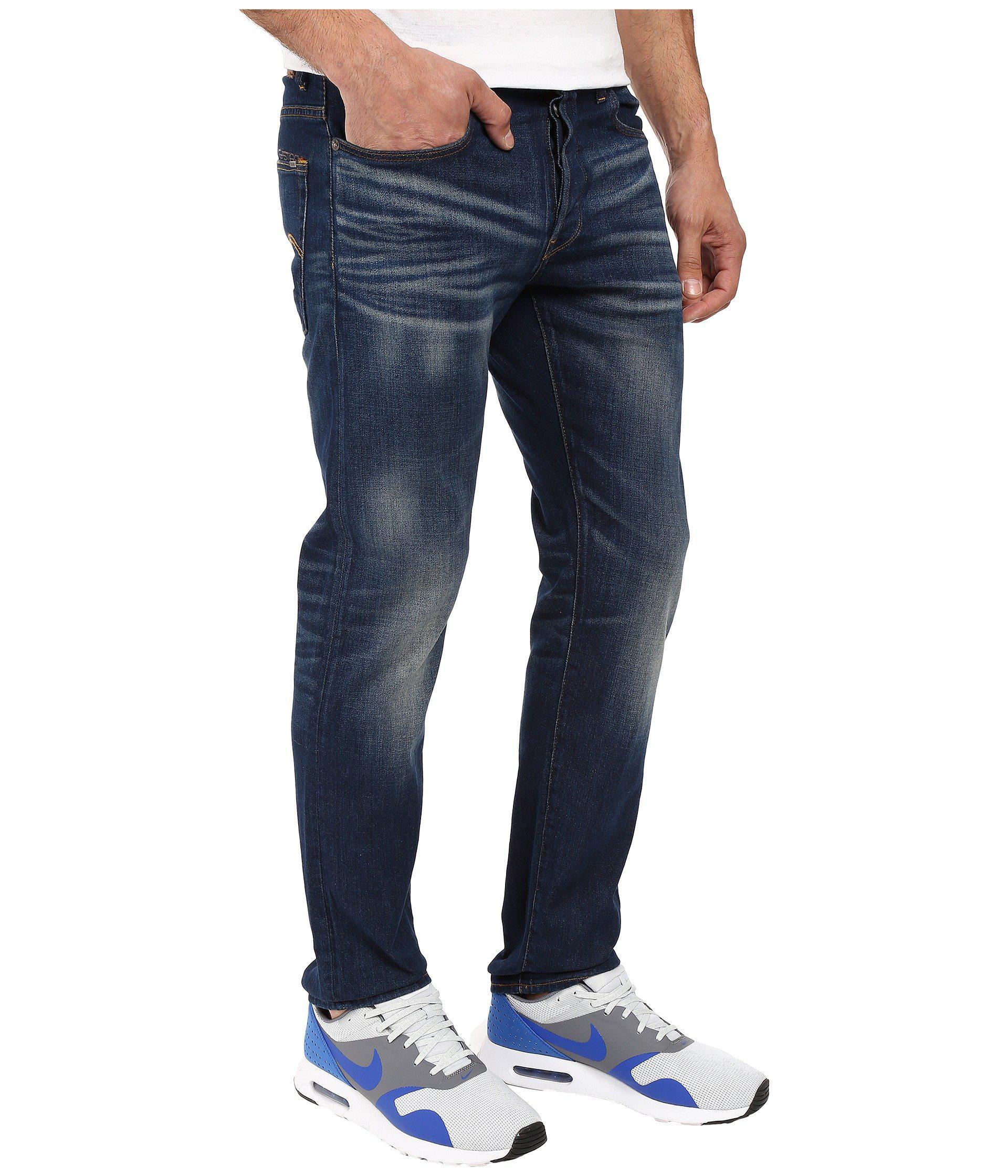 62b29f53a81a Lyst - G-Star RAW 3301 Straight Fit Jeans In Gosk Stretch Denim ...