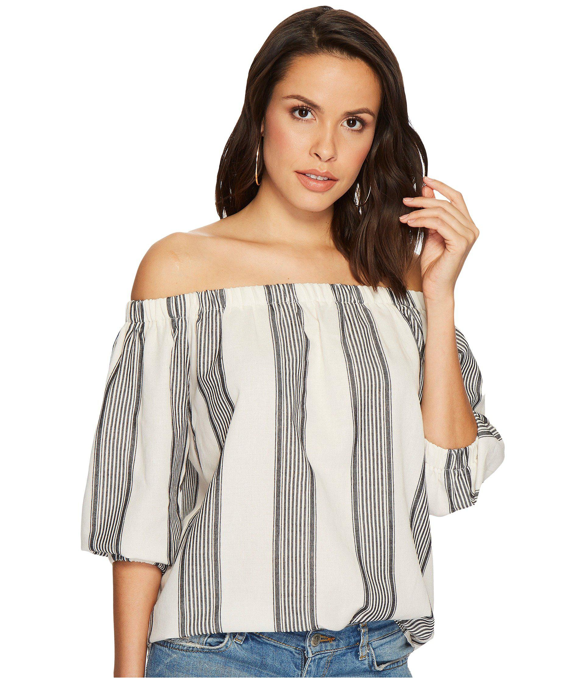 c0bf7b8440afd Lyst - Bishop + Young Karlie Off The Shoulder in Gray - Save 58%