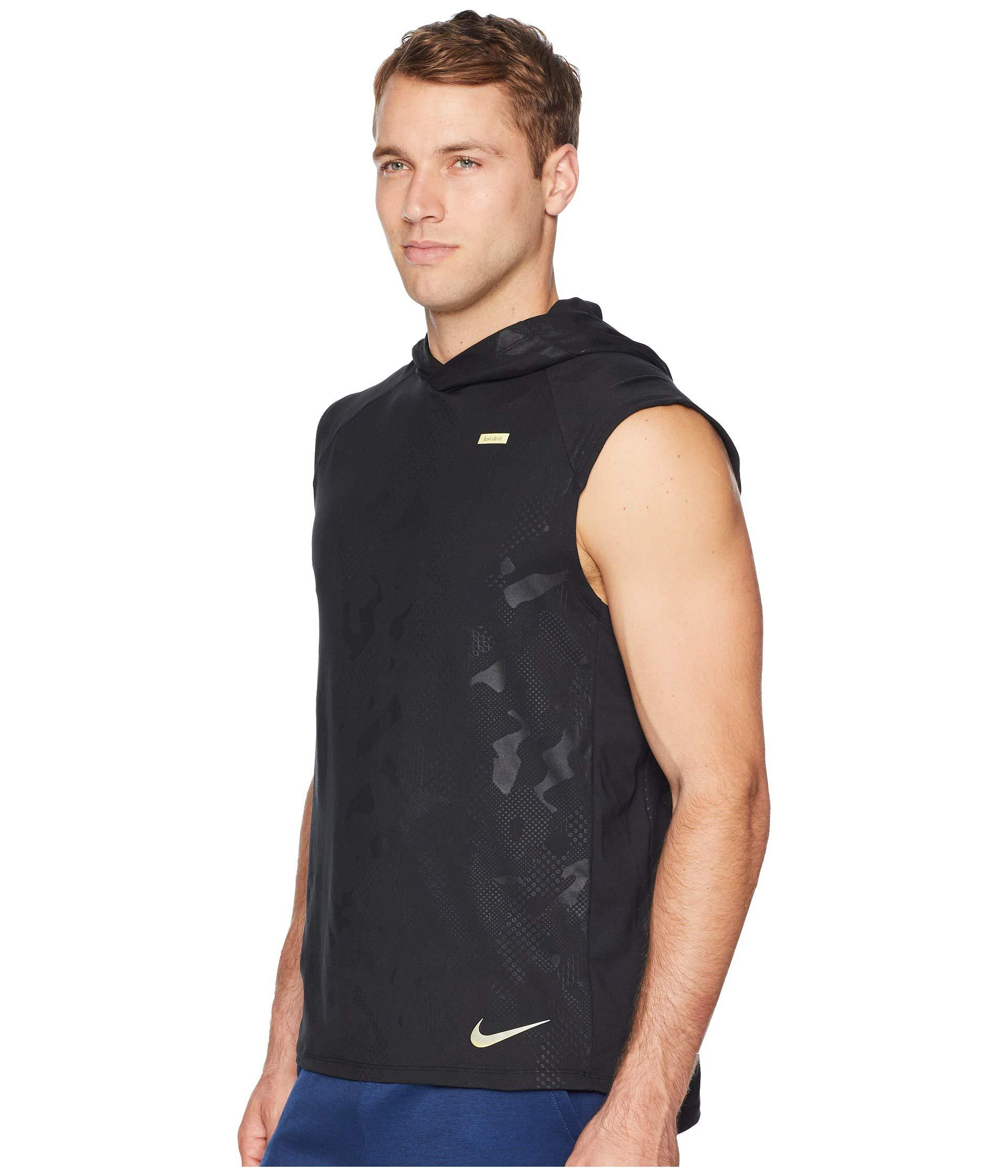 af1cfcf33a876 Lyst - Nike Element Sleeve Hoodie Gx in Black for Men - Save 19%