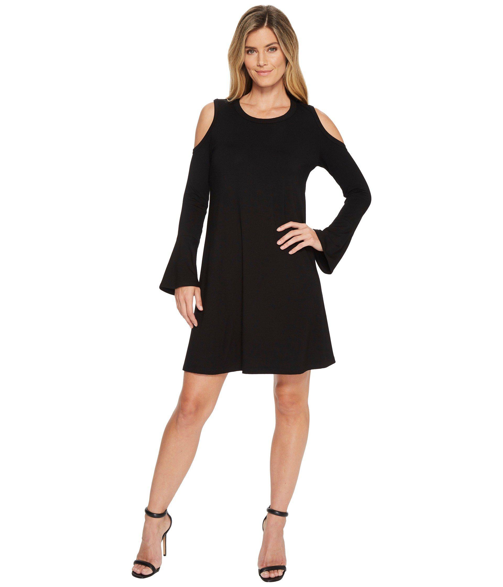 90020a70b1c Lyst - Karen Kane Cold Shoulder Dress in Black - Save 49%