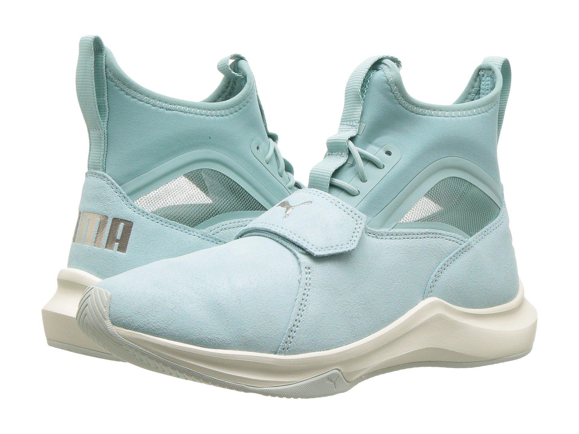 PumaPHENOM SHIMMER - Sports shoes - birch/whisper white gK7r6HO