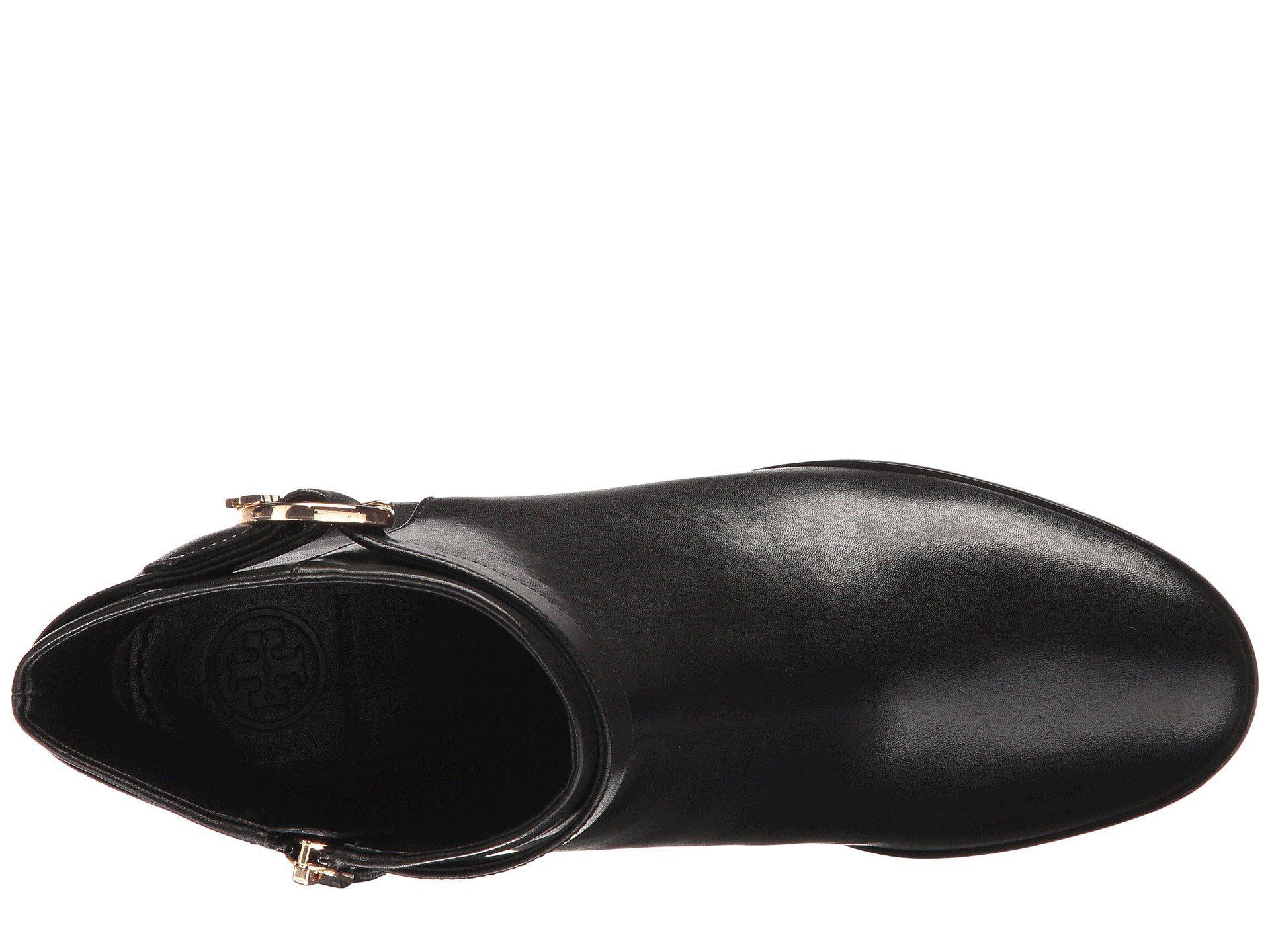 e20ac249eb7 Lyst - Tory Burch Sofia 60mm Dress Bootie in Black