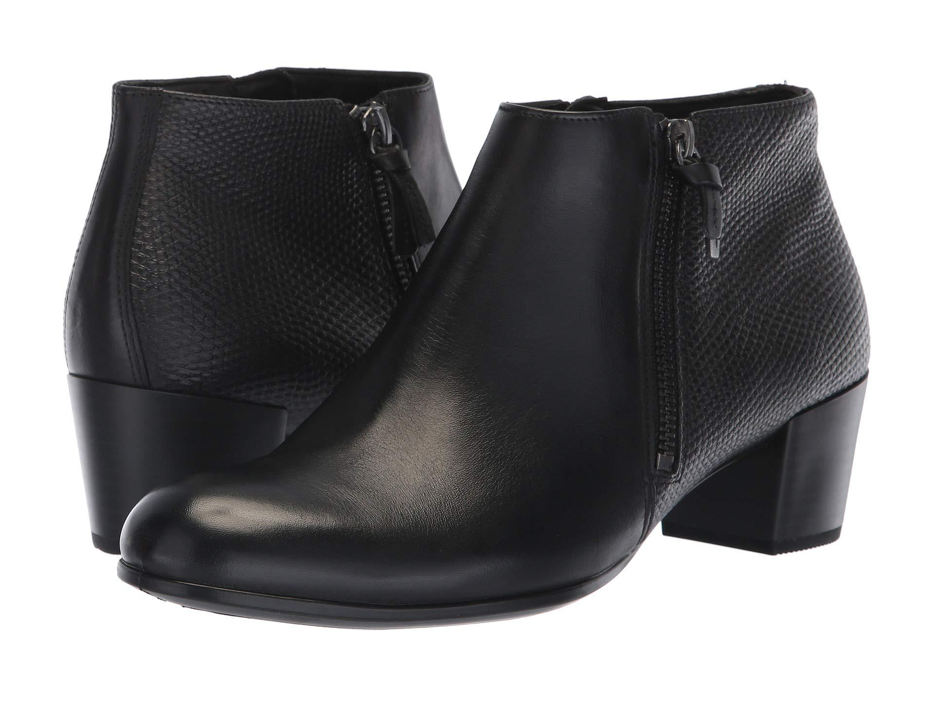 12cdb17bd195 Ecco - Black Shape M 35 Ankle Boot - Lyst. View fullscreen