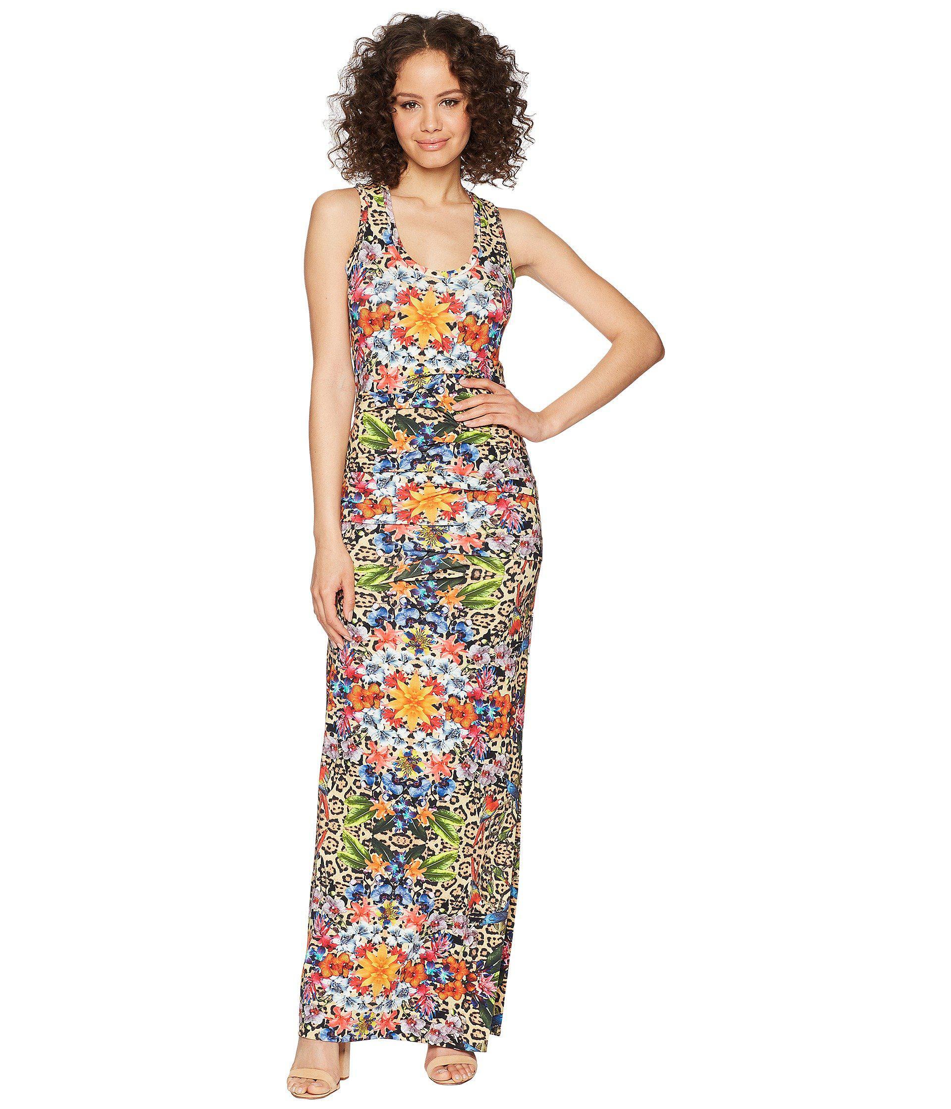 11a7c4732f Nicole Miller - Multicolor Vanessa Maxi Dress - Lyst. View fullscreen