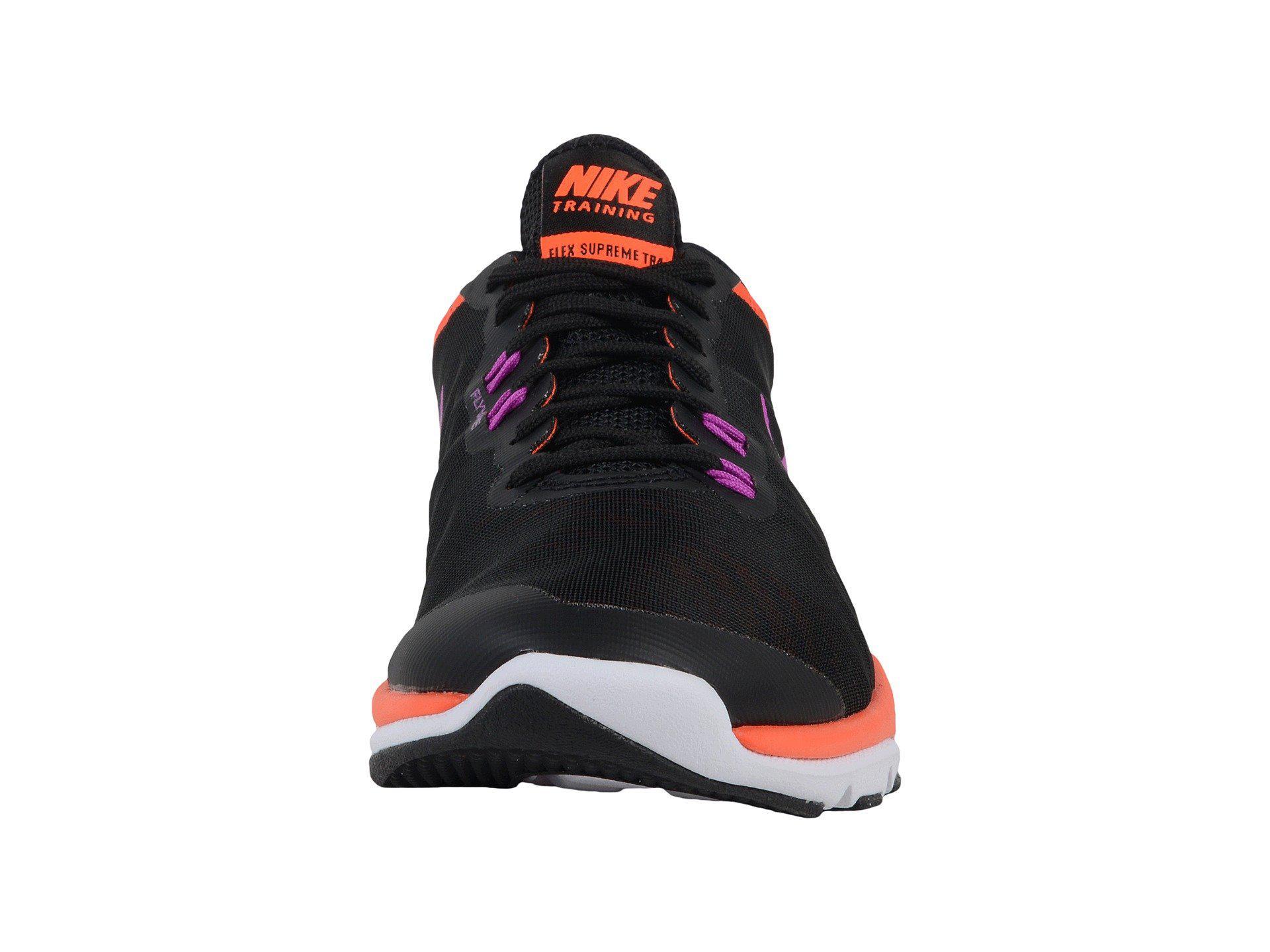 best service 1a092 6d394 Lyst - Nike Flex Supreme Tr4 in Black
