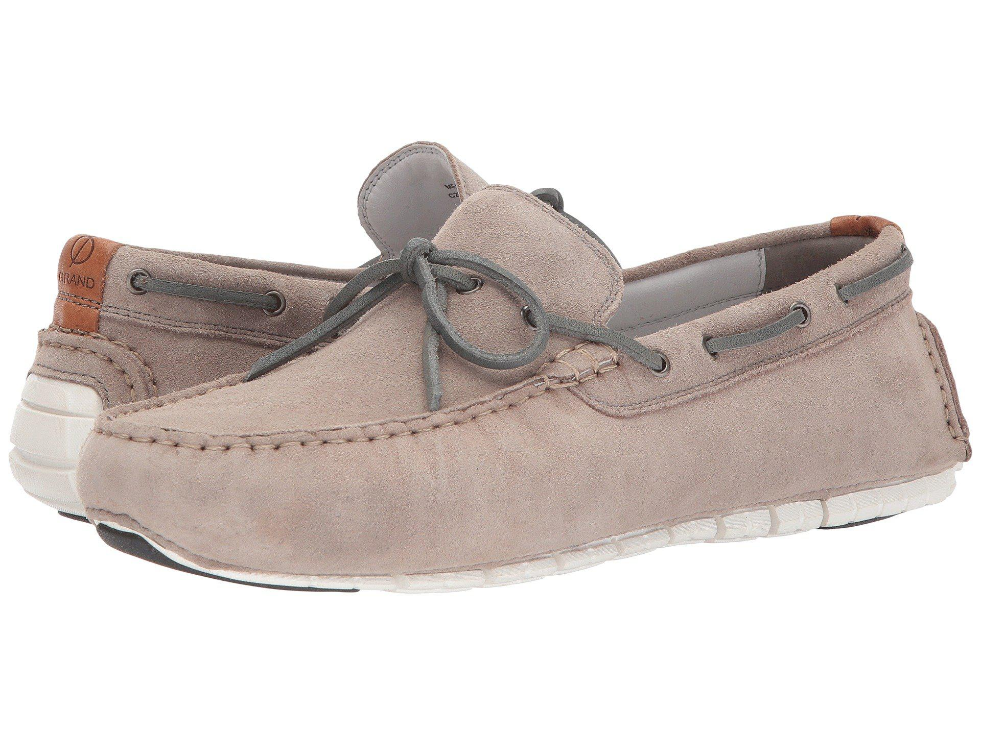 ba5baee0d26 Lyst - Cole Haan Zerogrand Camp Moc Driver in Gray for Men - Save 43%