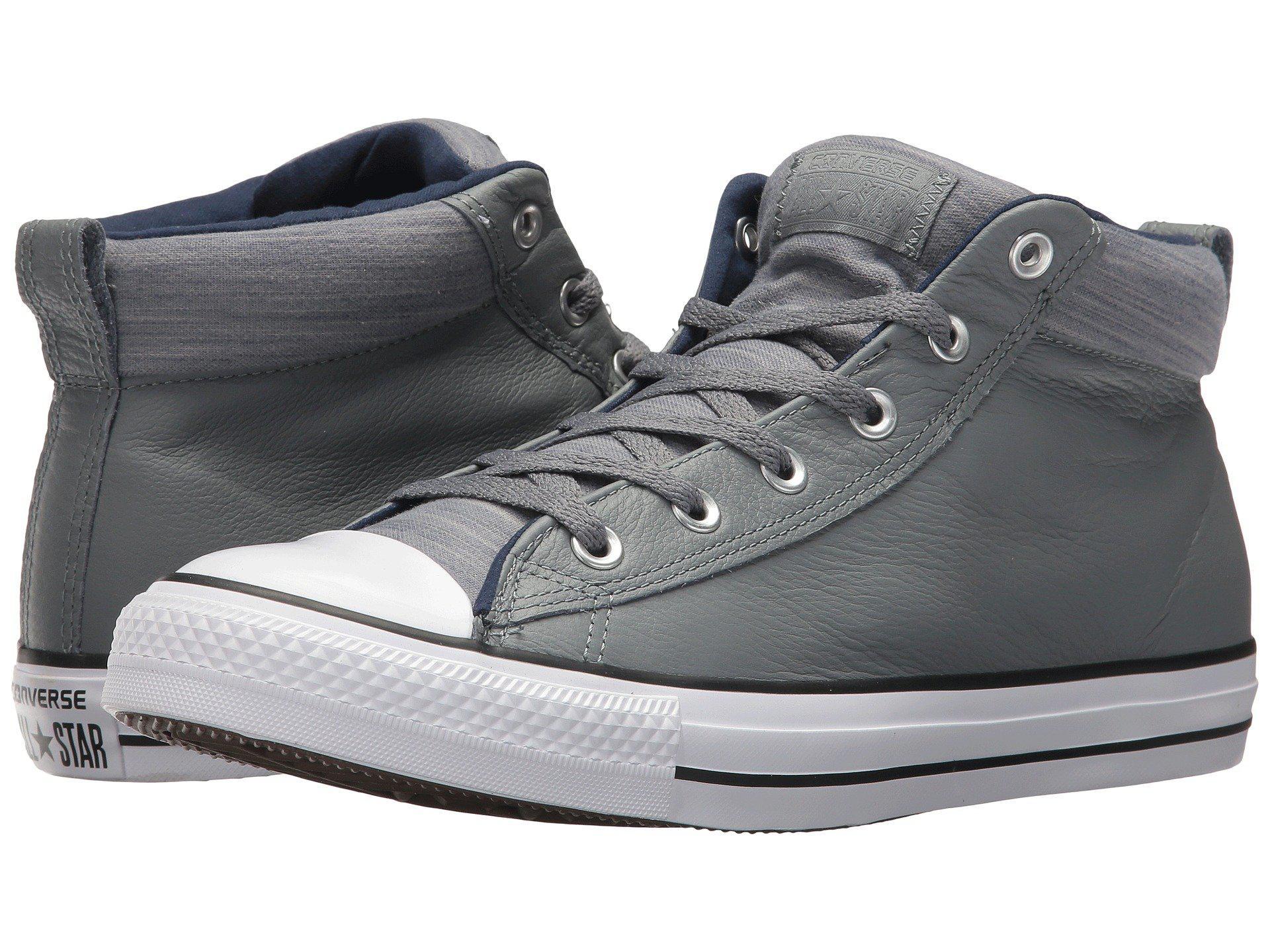 aeaa19cdef7 Lyst - Converse Chuck Taylor® All Star® High Street Leather W ...