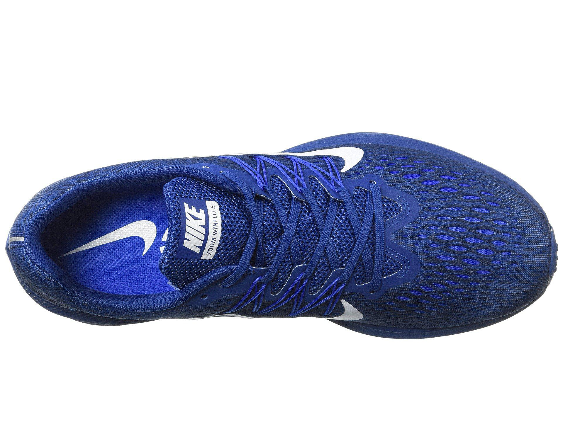 efa8c6316bef Nike - Blue Air Zoom Winflo 5 for Men - Lyst. View fullscreen